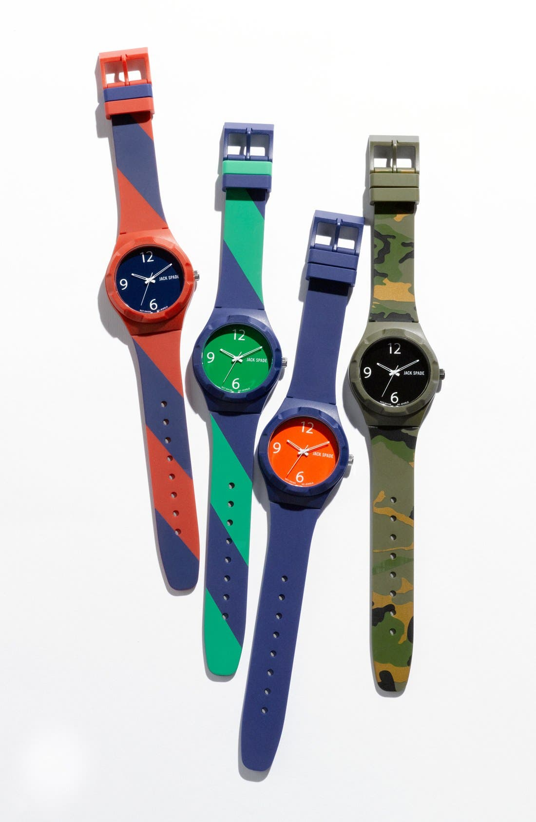 Alternate Image 3  - Jack Spade 'Graphic - Solid' Watch, 40mm