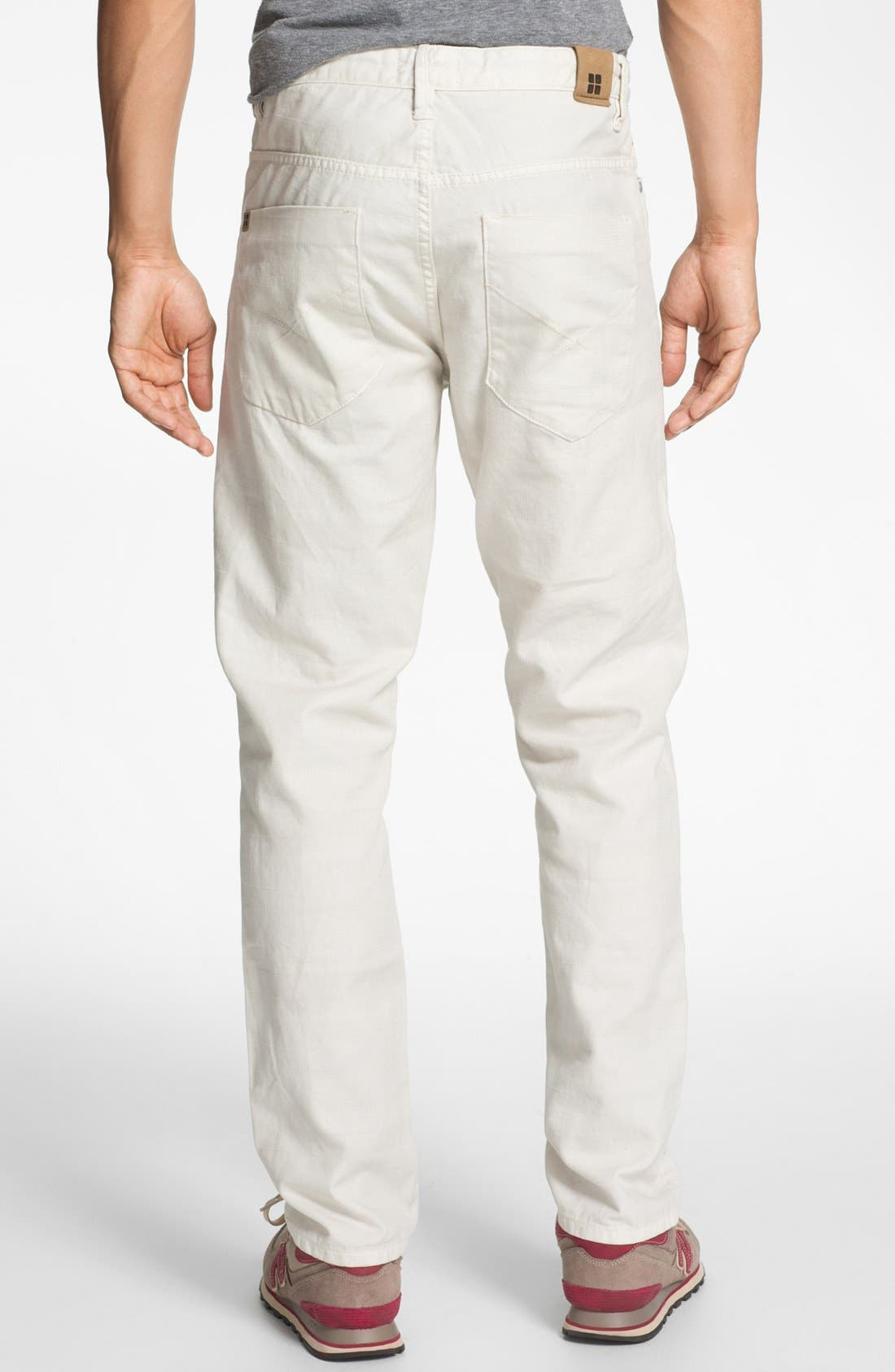 Alternate Image 1 Selected - Insight 'Loose Joints' Slim Leg Jeans (Stoned)