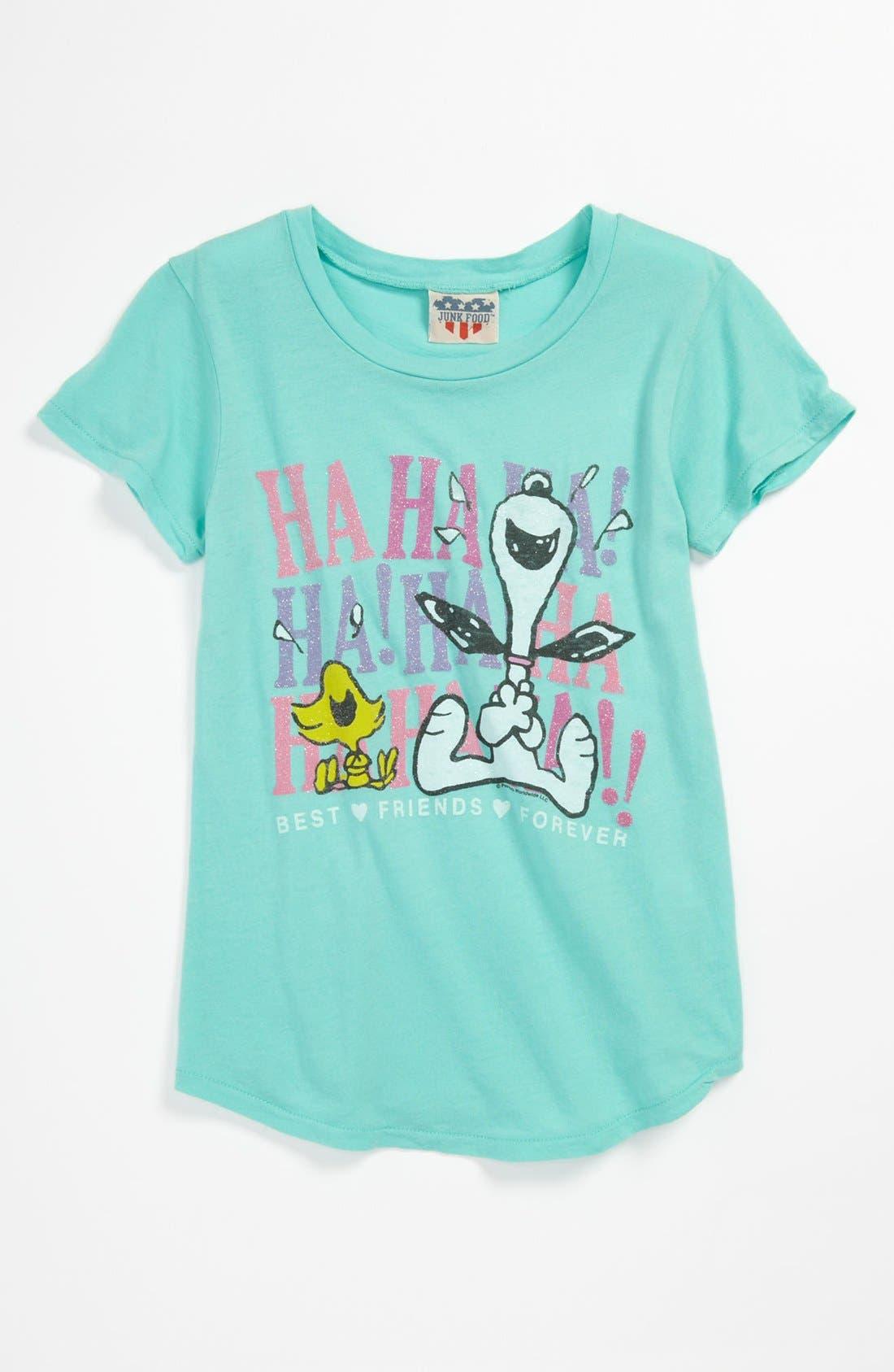 Main Image - Junk Food 'BFF' Tee (Big Girls)