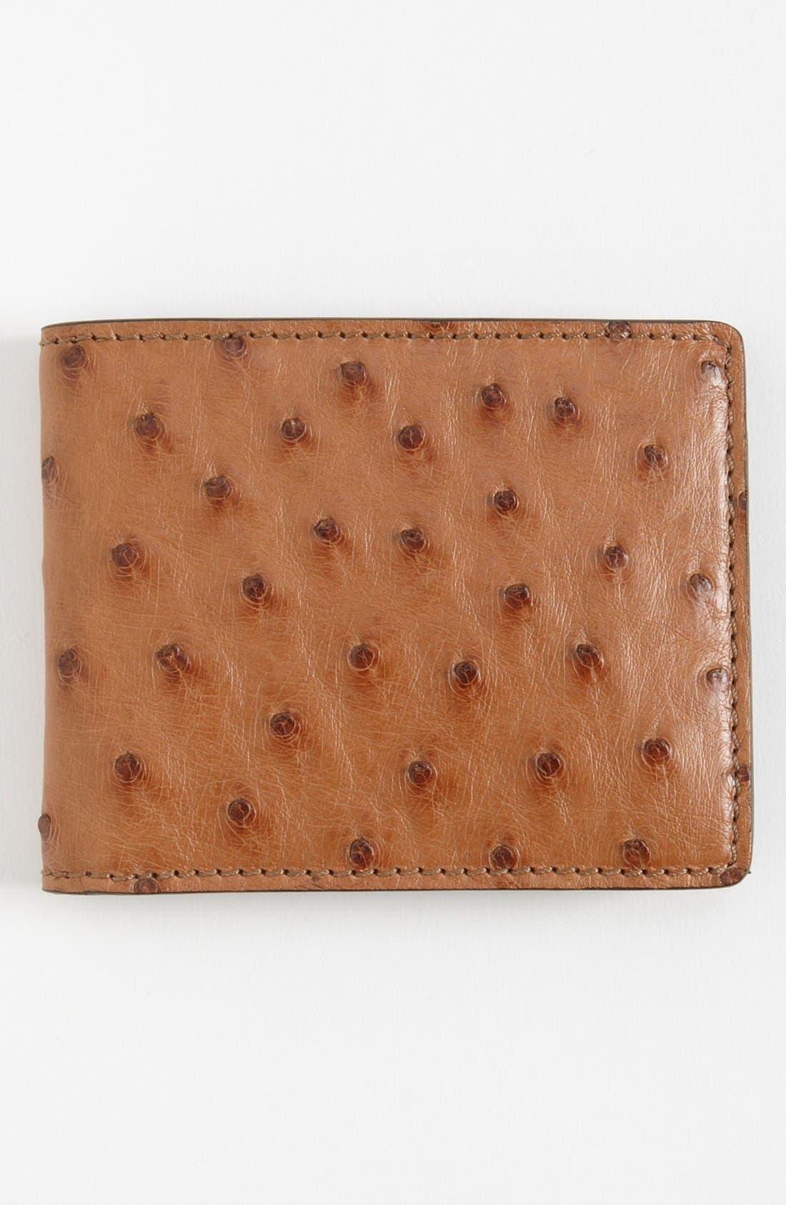 Alternate Image 2  - Burberry Ostrich Leather Wallet