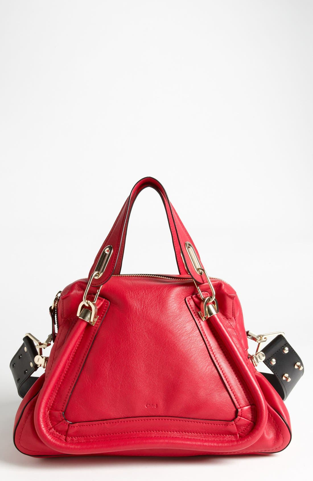Alternate Image 1 Selected - Chloé 'Paraty Military' Leather Satchel