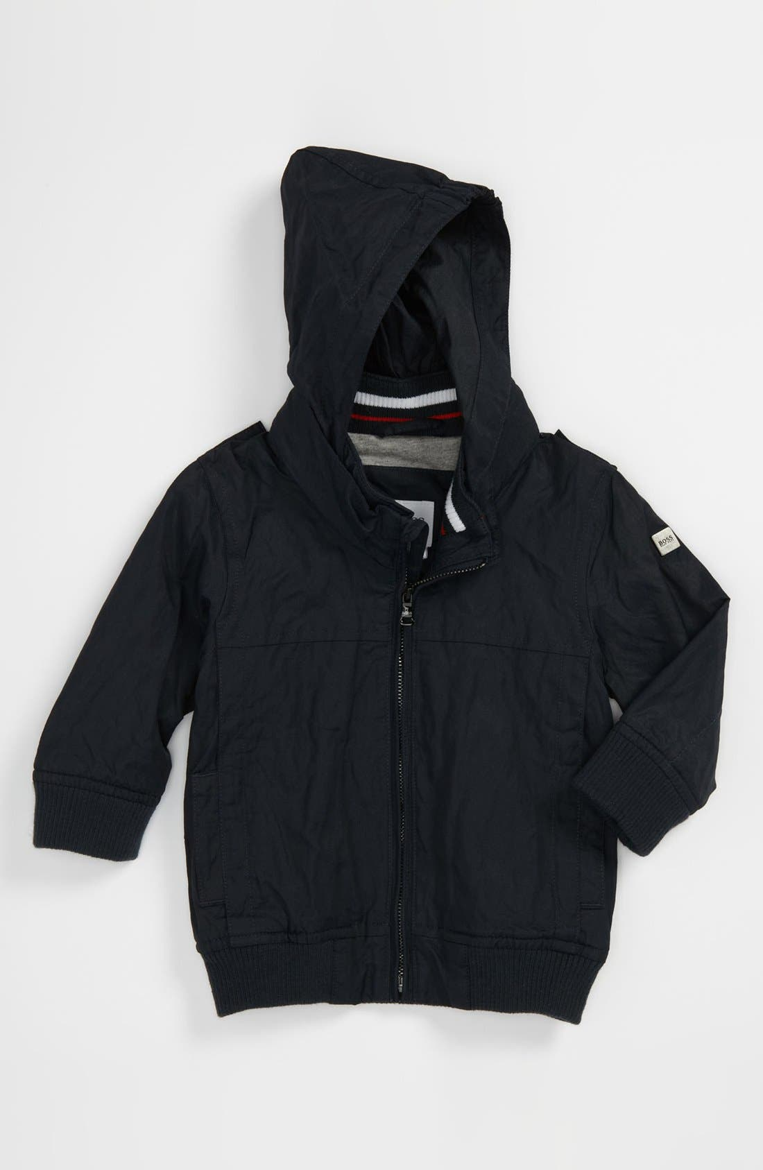 Alternate Image 1 Selected - BOSS Kidswear Twill Jacket (Toddler)