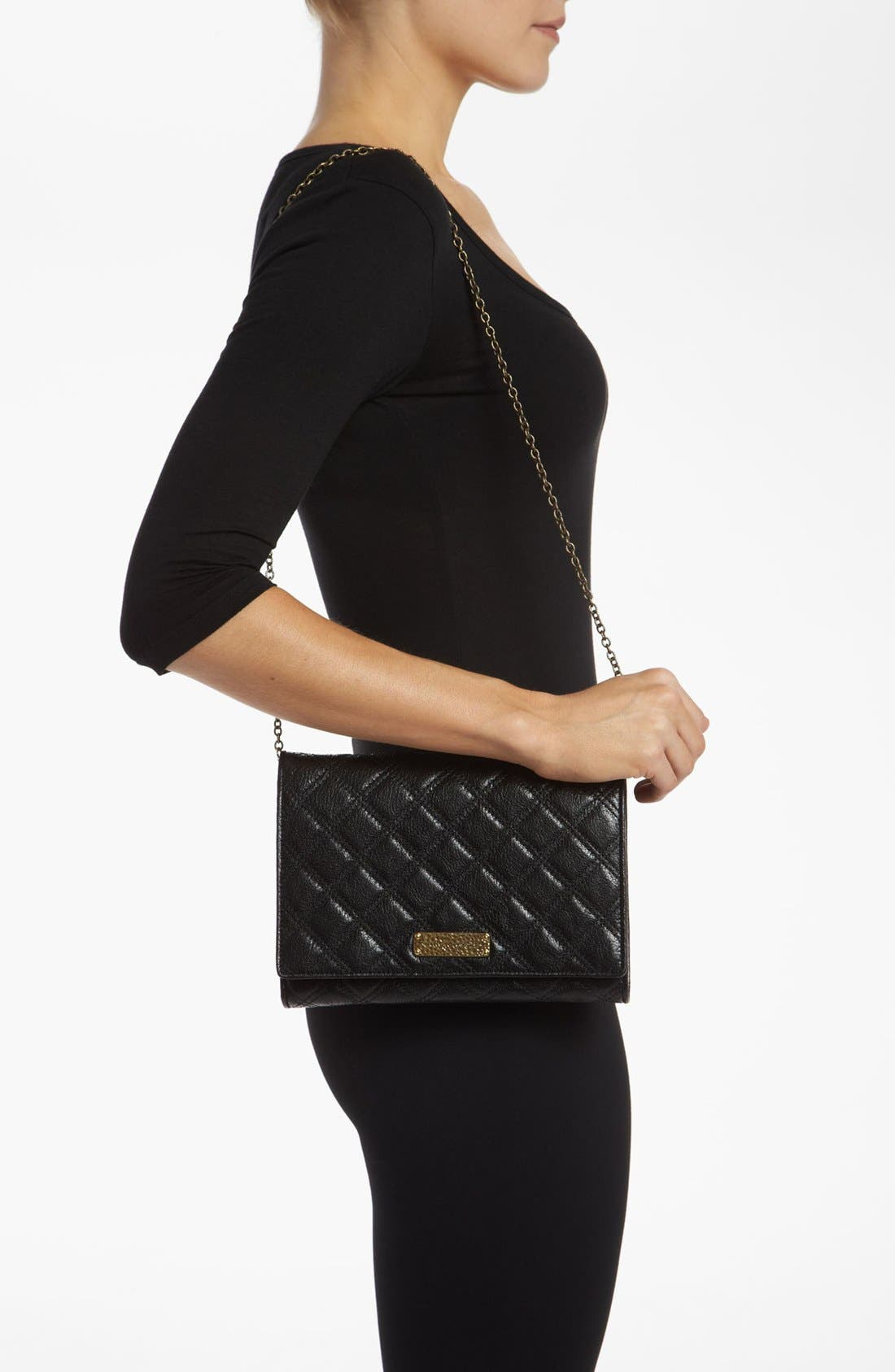 Alternate Image 2  - MARC JACOBS 'Baroque All In One' Leather Shoulder Bag