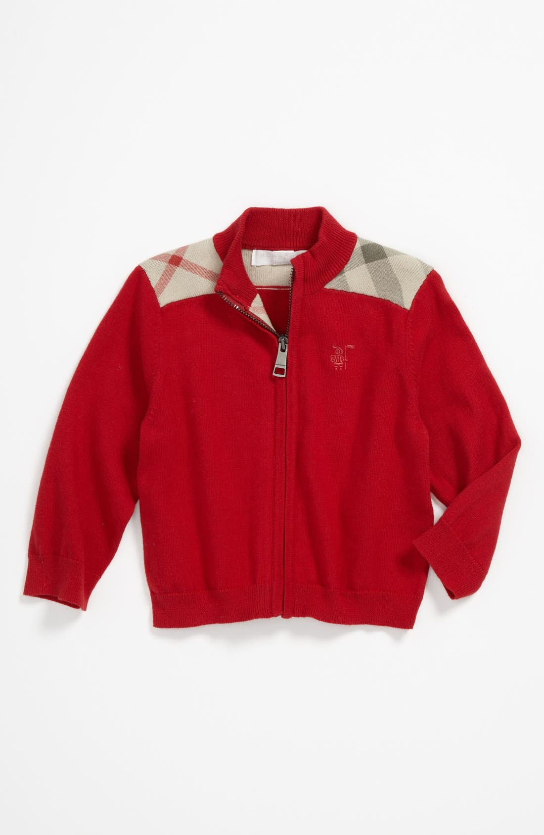 Alternate Image 1 Selected - Burberry 'Christian' Cardigan (Baby)
