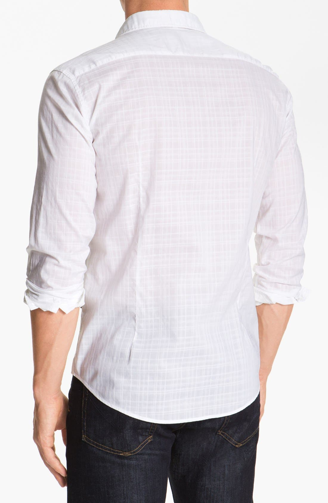 Alternate Image 2  - BOSS HUGO BOSS 'Pancho' Slim Fit Sport Shirt