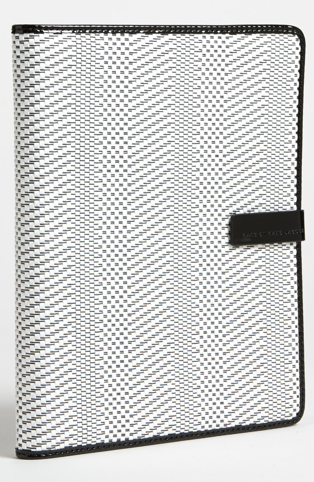 Alternate Image 1 Selected - MARC BY MARC JACOBS 'Wild Card - Shiny Straw' iPad Case