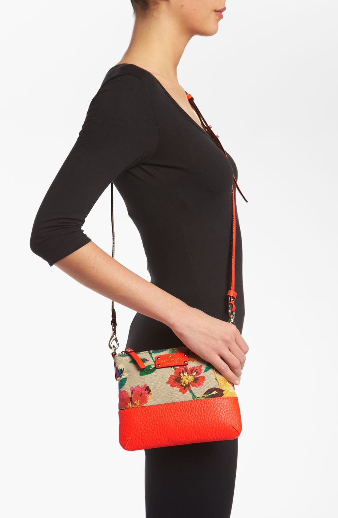 Alternate Image 2  - kate spade new york 'grove court floral - tenley' crossbody bag