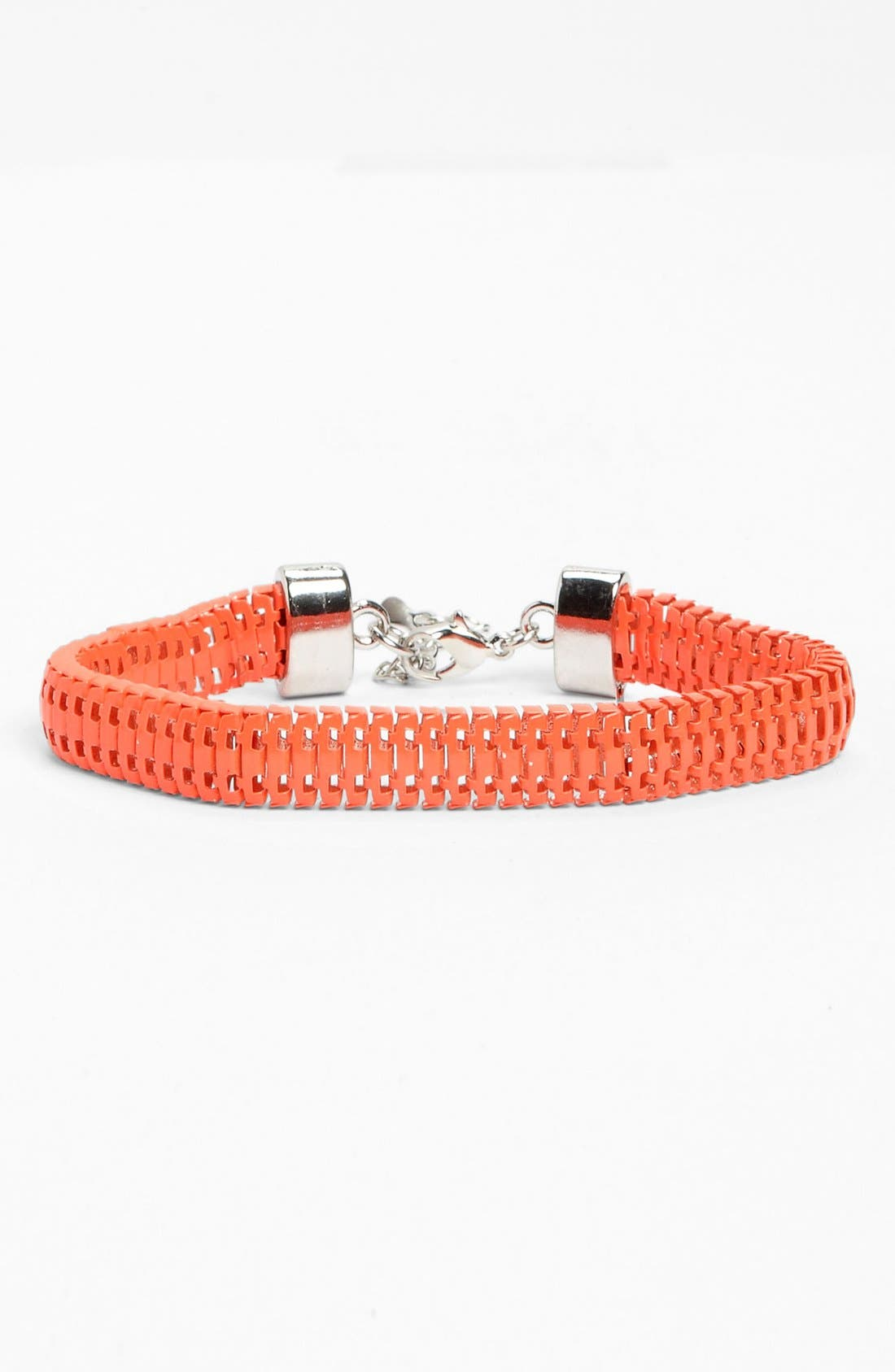 Alternate Image 1 Selected - Topshop Neon Trace Bracelet