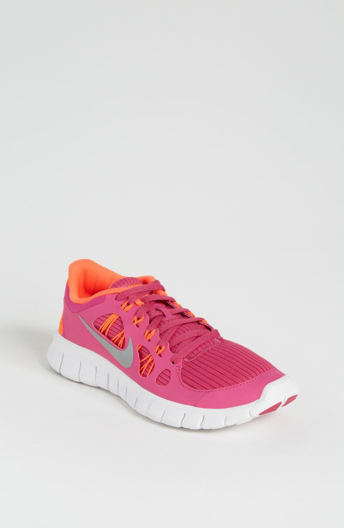 Alternate Image 1 Selected - Nike 'Free Run 5.0' Sneaker (Big Kid)
