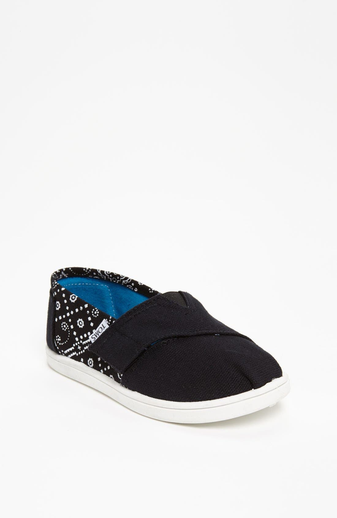 Main Image - TOMS 'Classic Tiny - Bandana' Slip-On (Baby, Walker & Toddler)