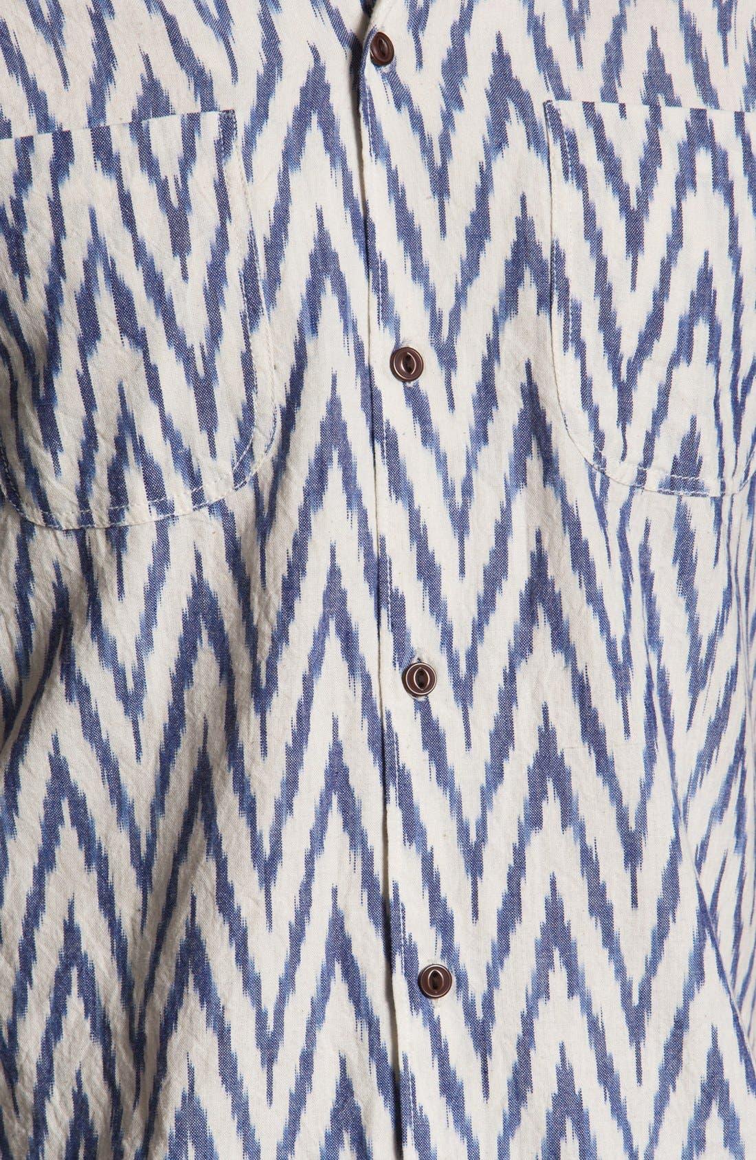 Alternate Image 3  - Burkman Bros Short Sleeve Campshirt