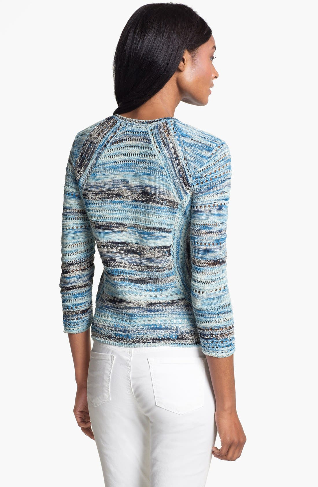 Alternate Image 2  - Nic + Zoe 'Blues' Textured Cardigan