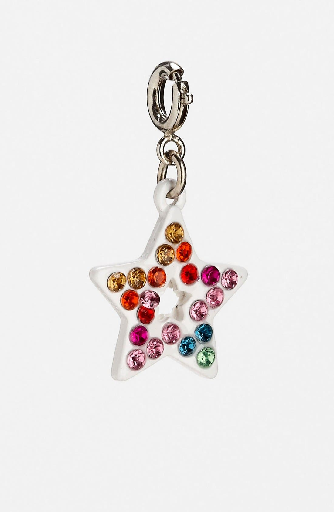 Alternate Image 1 Selected - CHARM IT!® Rainbow Star Charm (Girls)