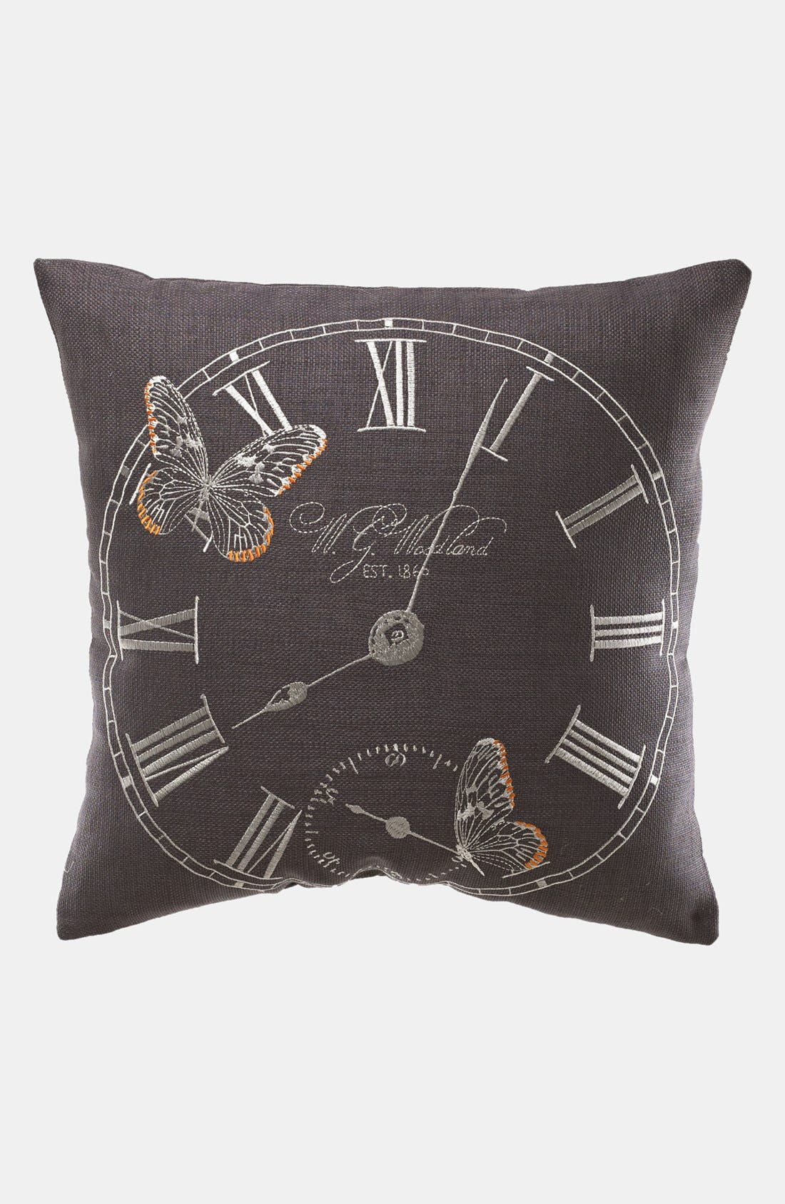 Alternate Image 1 Selected - KAS Designs 'Time Flies' Pillow (Online Only)