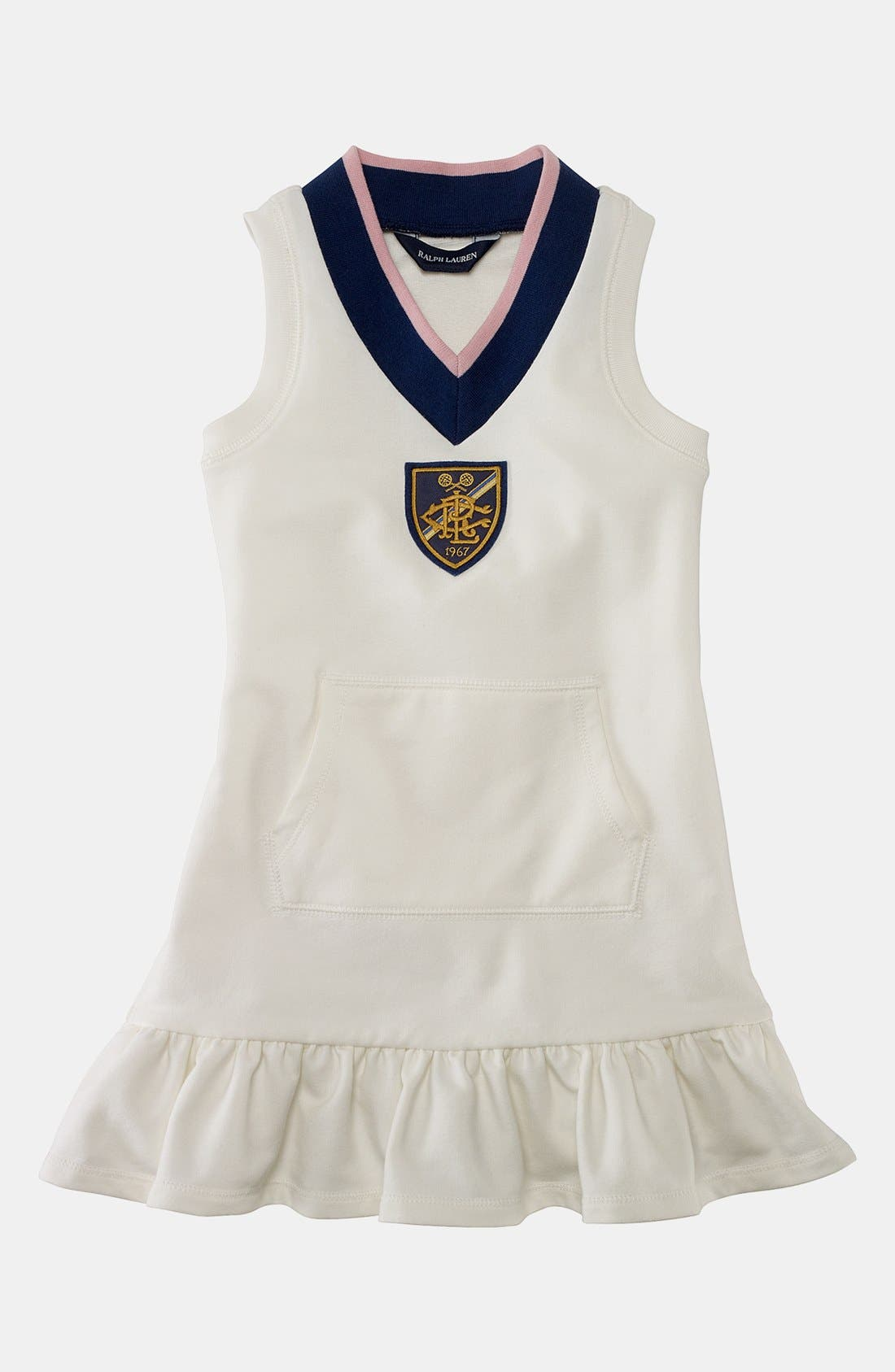 Alternate Image 1 Selected - Ralph Lauren Dress (Toddler)