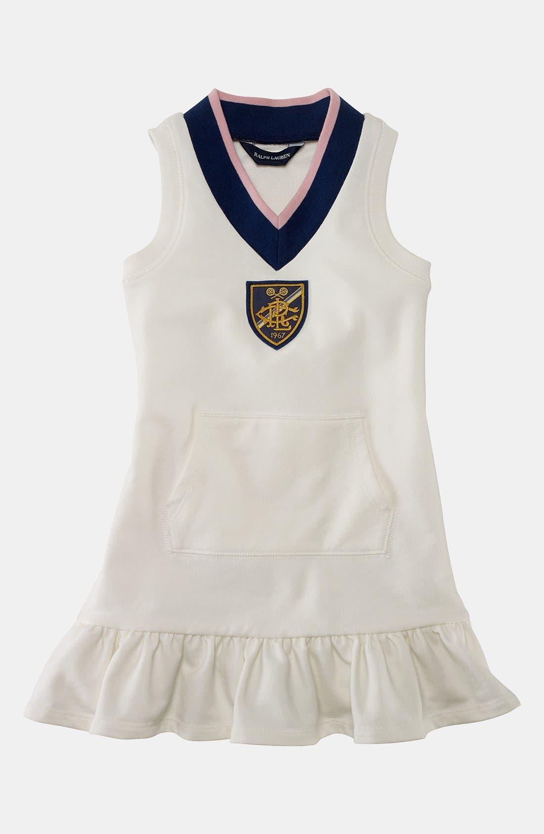 Main Image - Ralph Lauren Dress (Toddler)