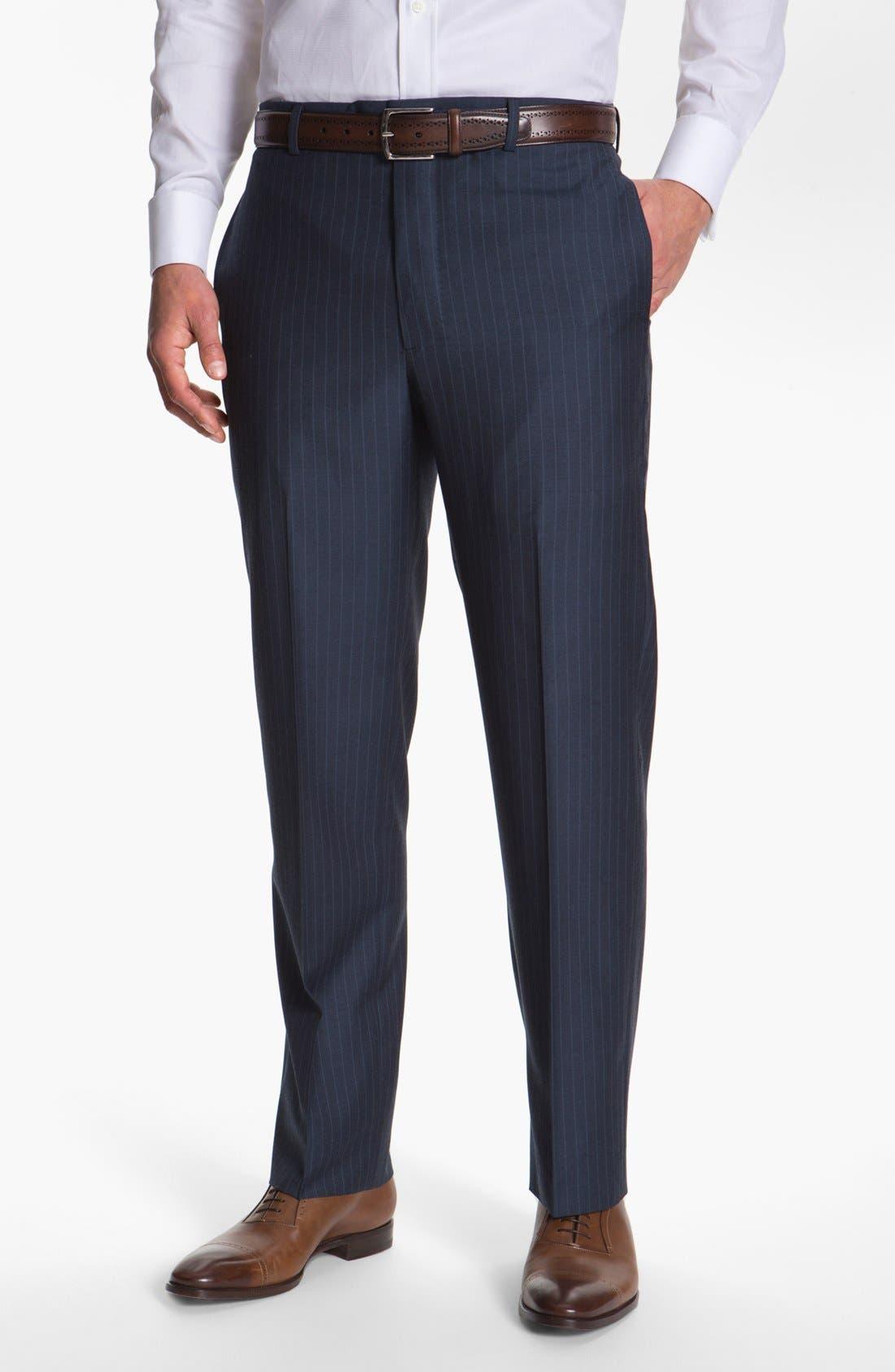 Alternate Image 5  - Joseph Abboud 'Platinum' Stripe Wool Suit