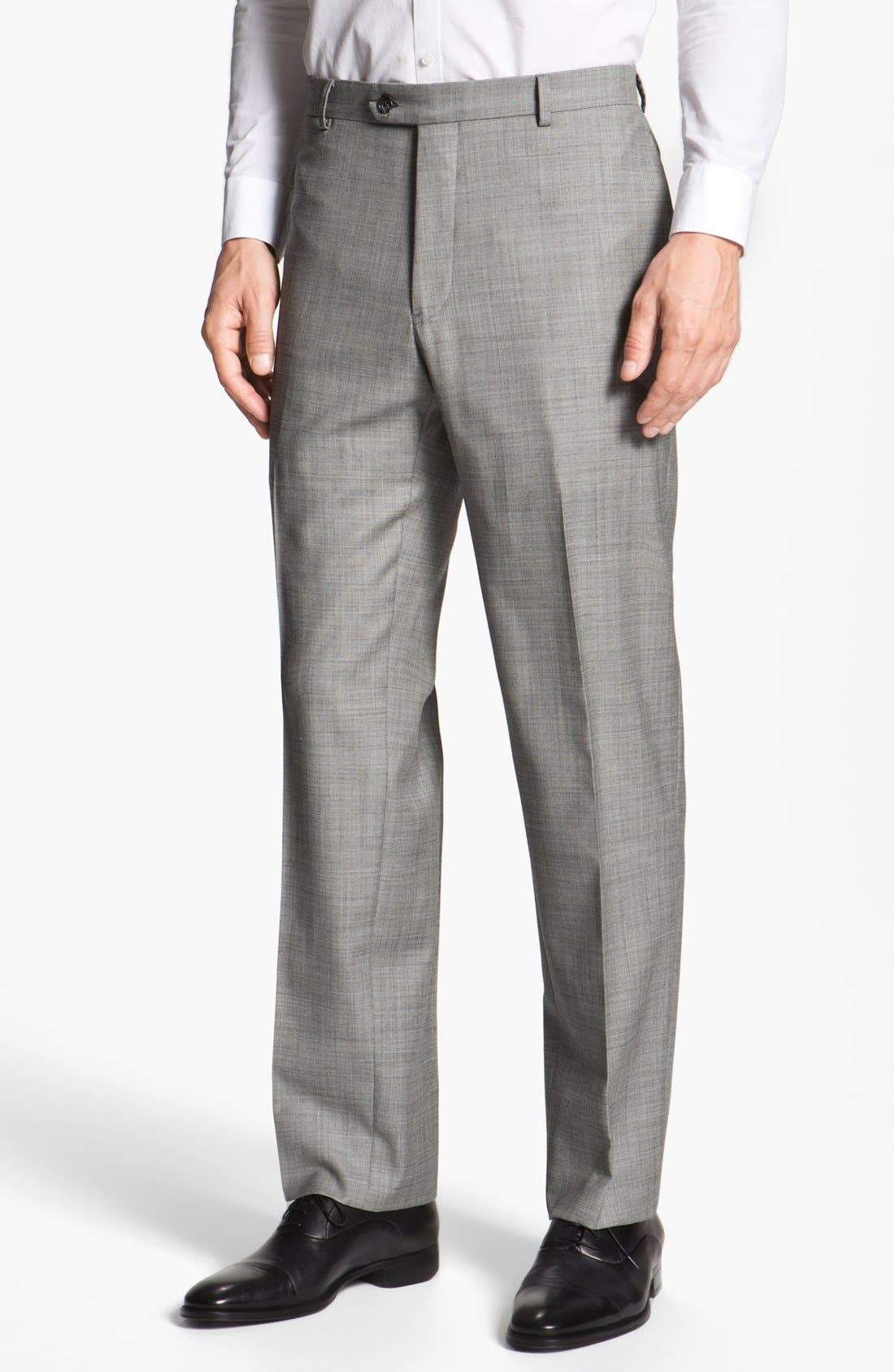 Alternate Image 4  - Joseph Abboud 'Profile' Trim Fit Wool Suit (Online Only)