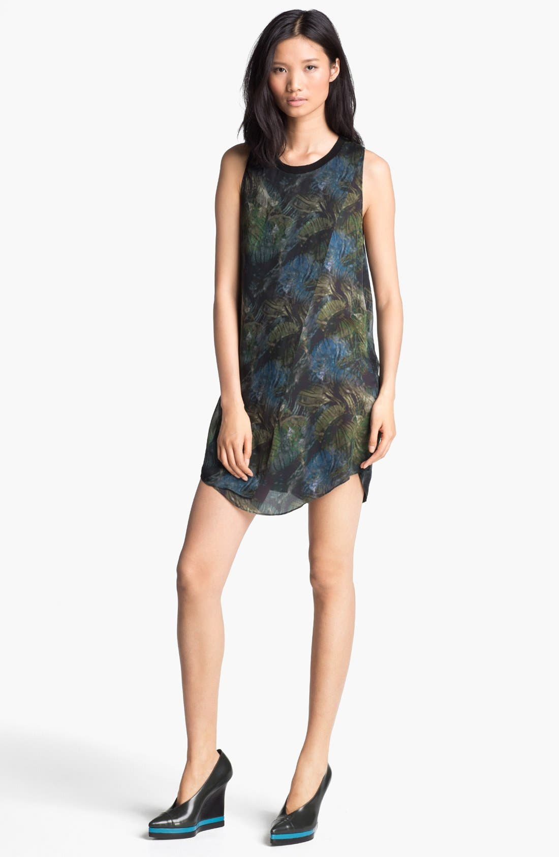 Alternate Image 1 Selected - Theyskens' Theory 'Derious Itrey' Sleeveless Silk Dress