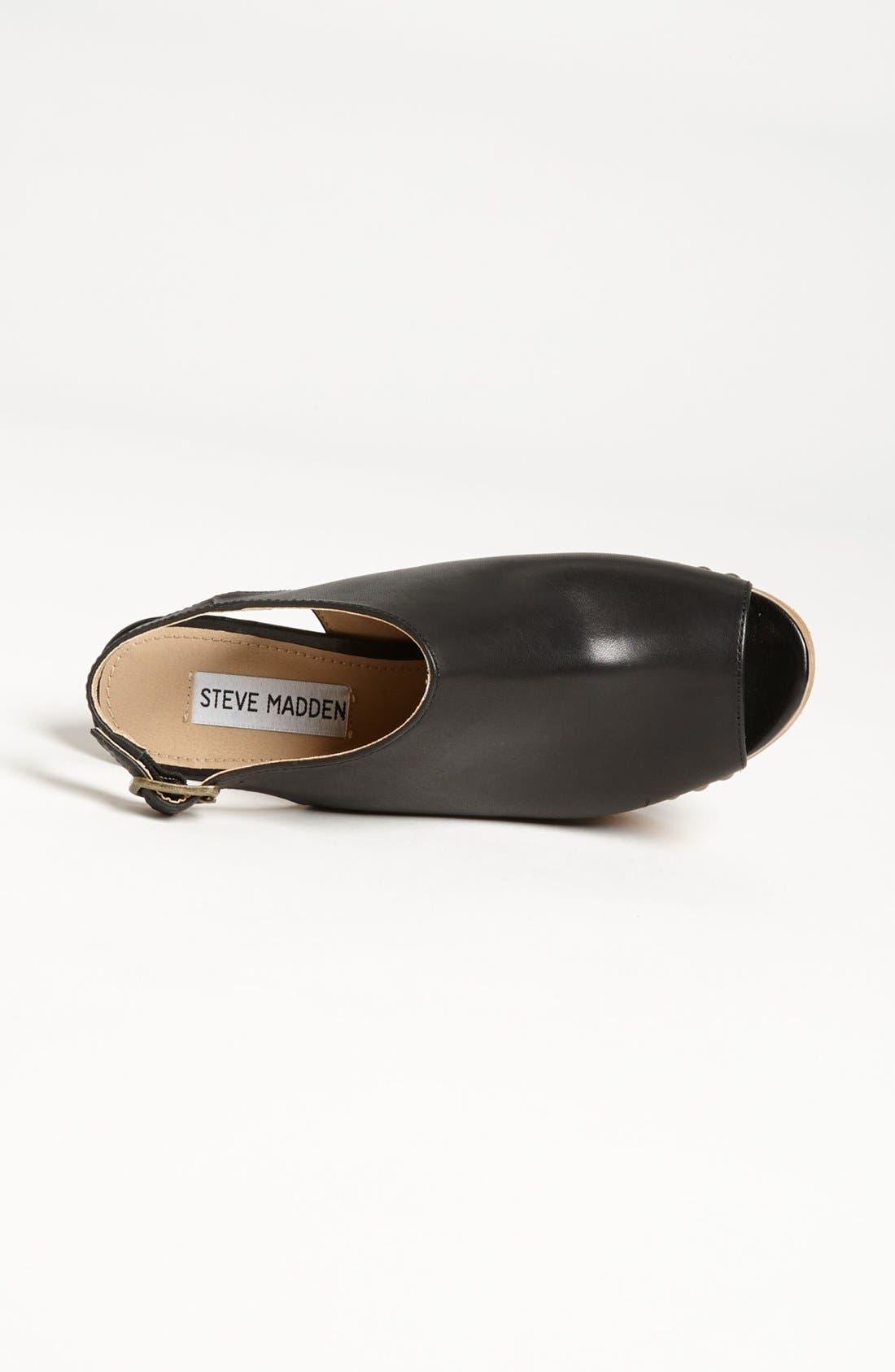 Alternate Image 3  - Steve Madden 'Tryffle' Wedge Sandal