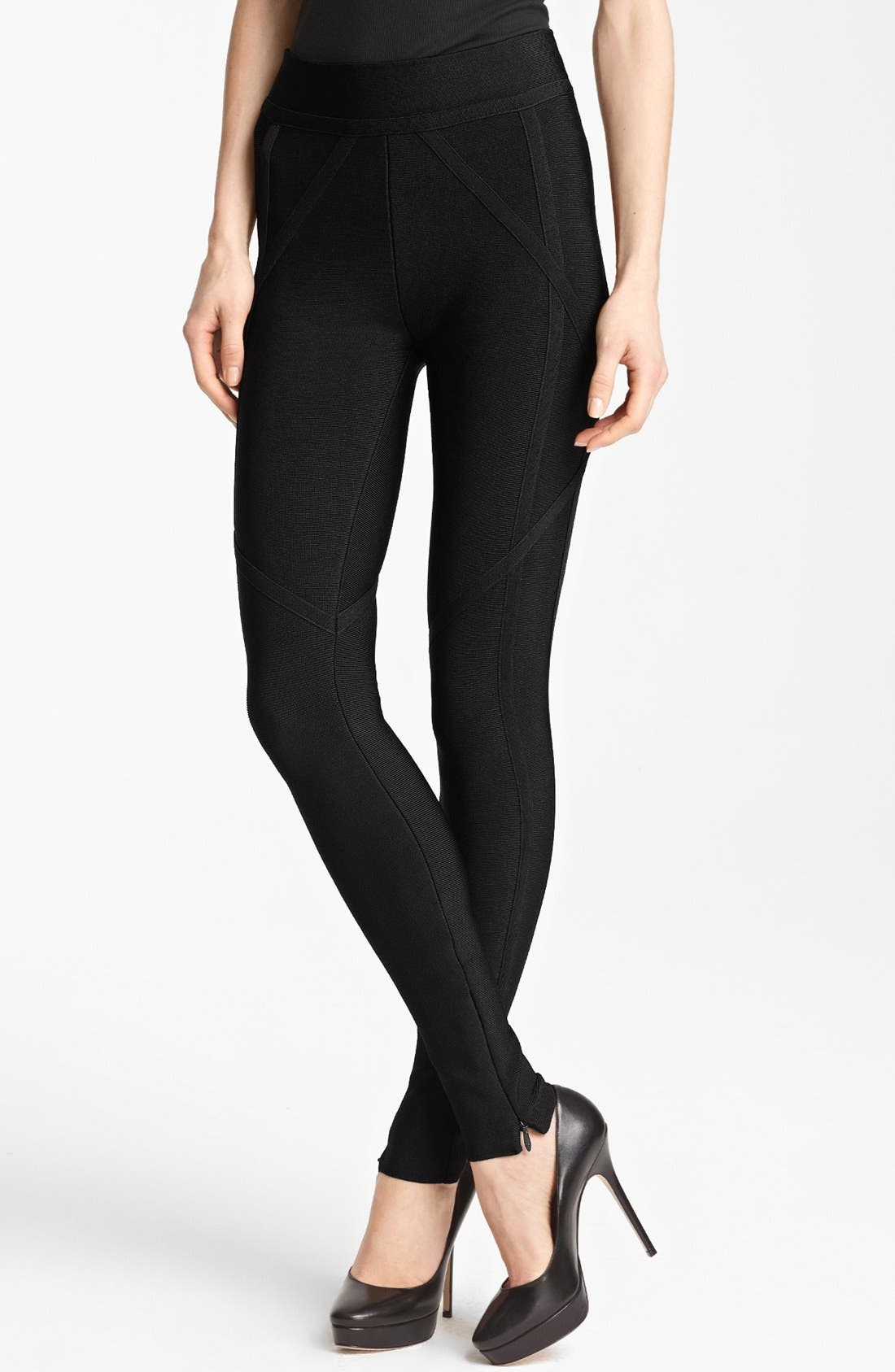 Alternate Image 1 Selected - Herve Leger Leggings