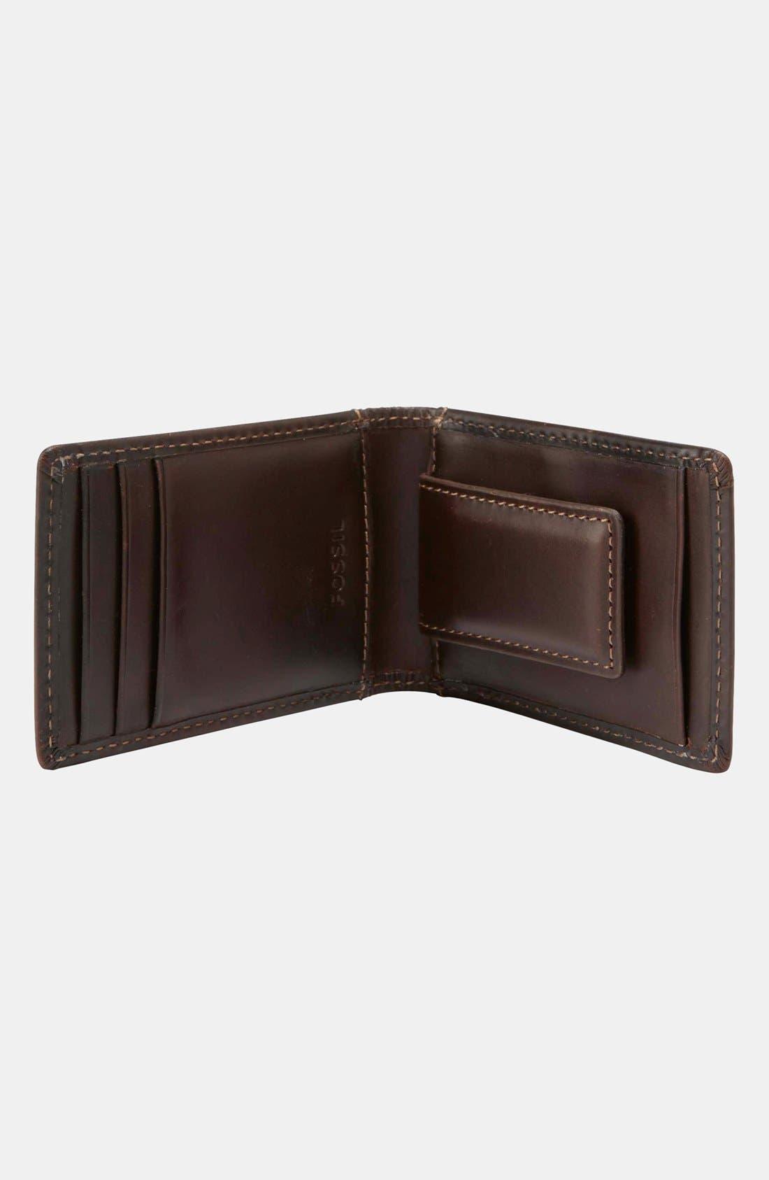 Alternate Image 2  - Fossil 'Sam' Flip Money Clip Wallet