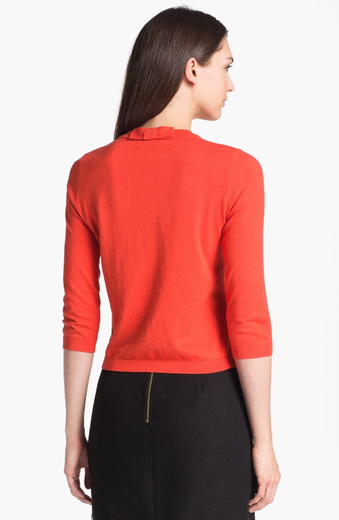 Alternate Image 2  - kate spade new york 'sofia' cashmere blend cardigan