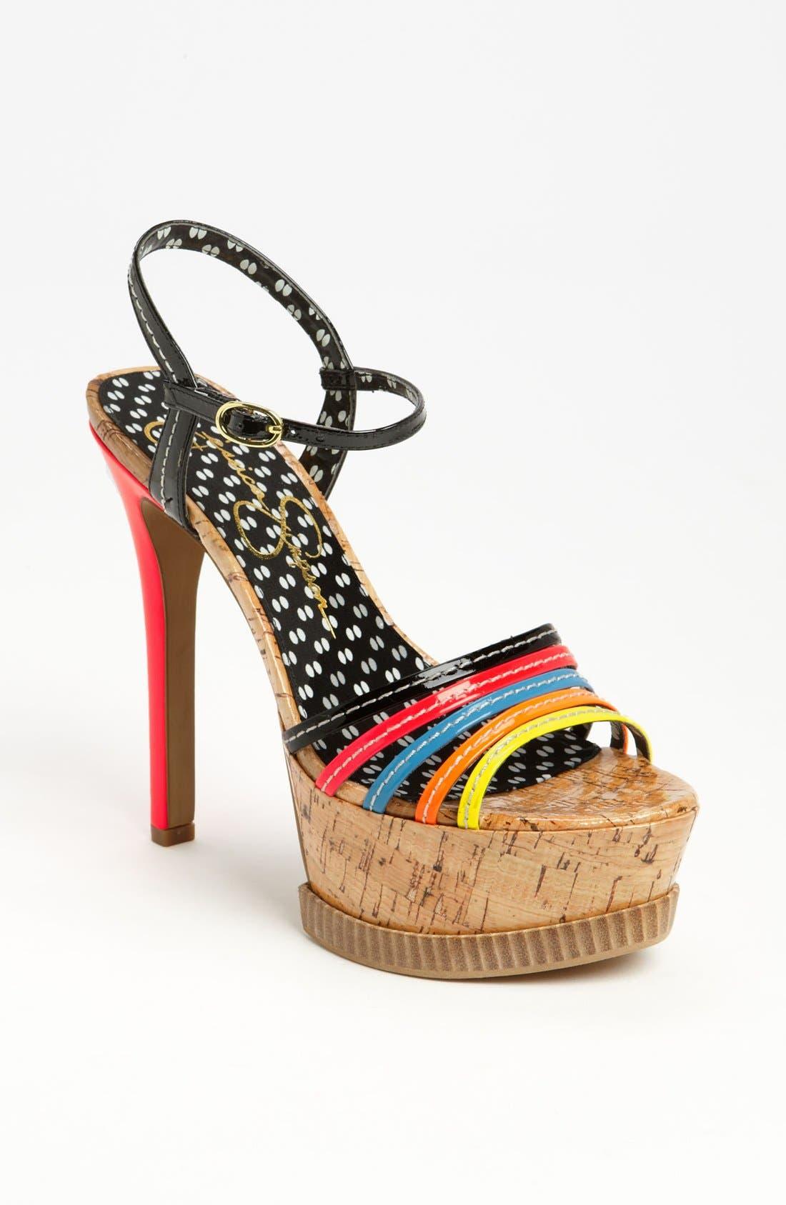Alternate Image 1 Selected - Jessica Simpson 'Skye' Sandal