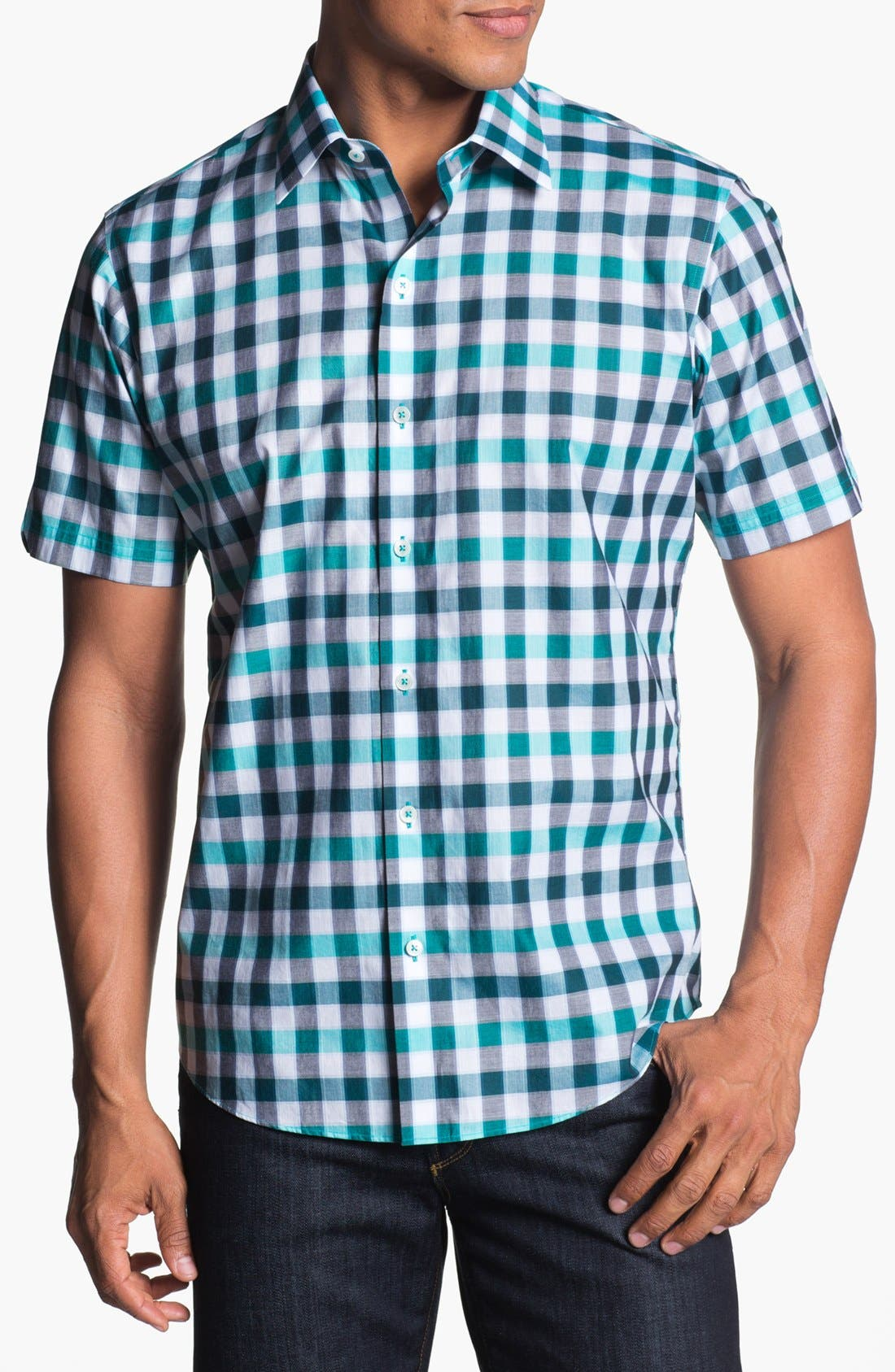 Alternate Image 1 Selected - Zachary Prell 'Minamoto' Short Sleeve Sport Shirt