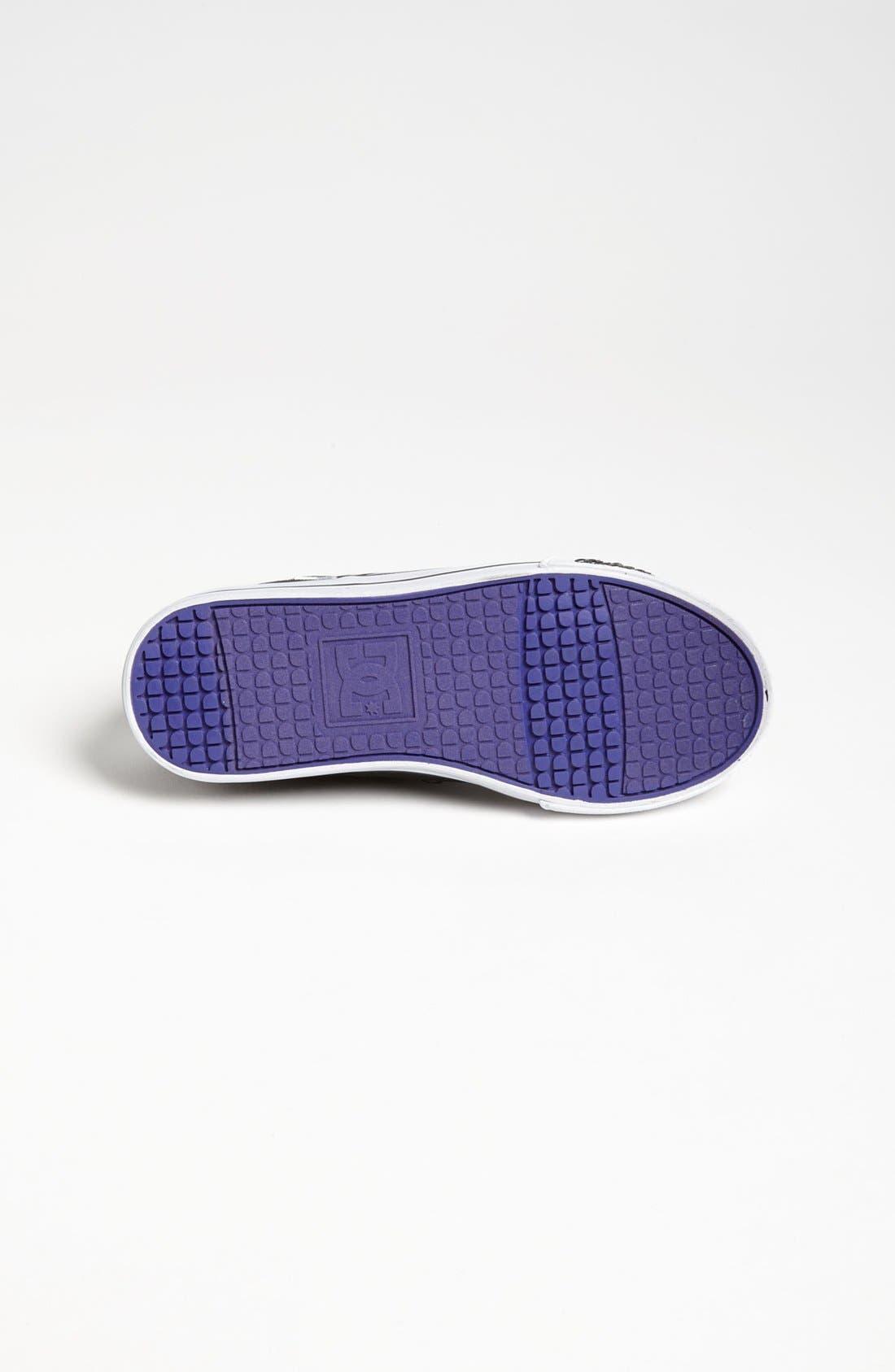 Alternate Image 4  - DC Shoes 'Chelsea' Sneaker (Toddler, Little Kid & Big Kid)