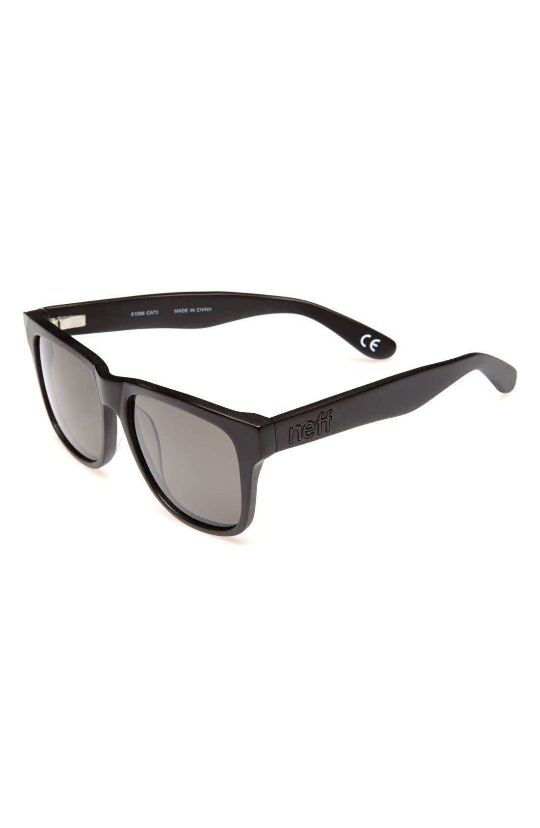Alternate Image 1 Selected - Neff 'Thunder' Polarized Sunglasses (Boys)