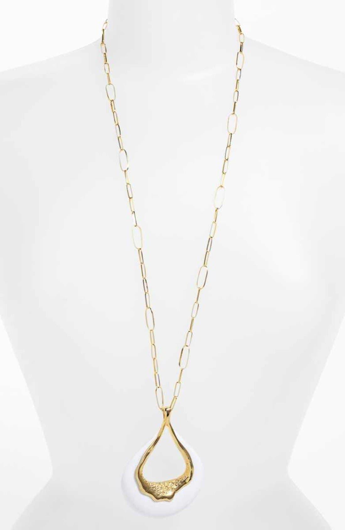 Alternate Image 2  - Alexis Bittar 'Miss Havisham - Liquid Gold' Long Pendant Necklace