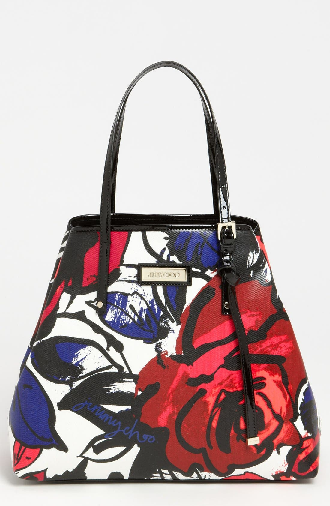 Alternate Image 1 Selected - Jimmy Choo 'Sasha' Floral Tote