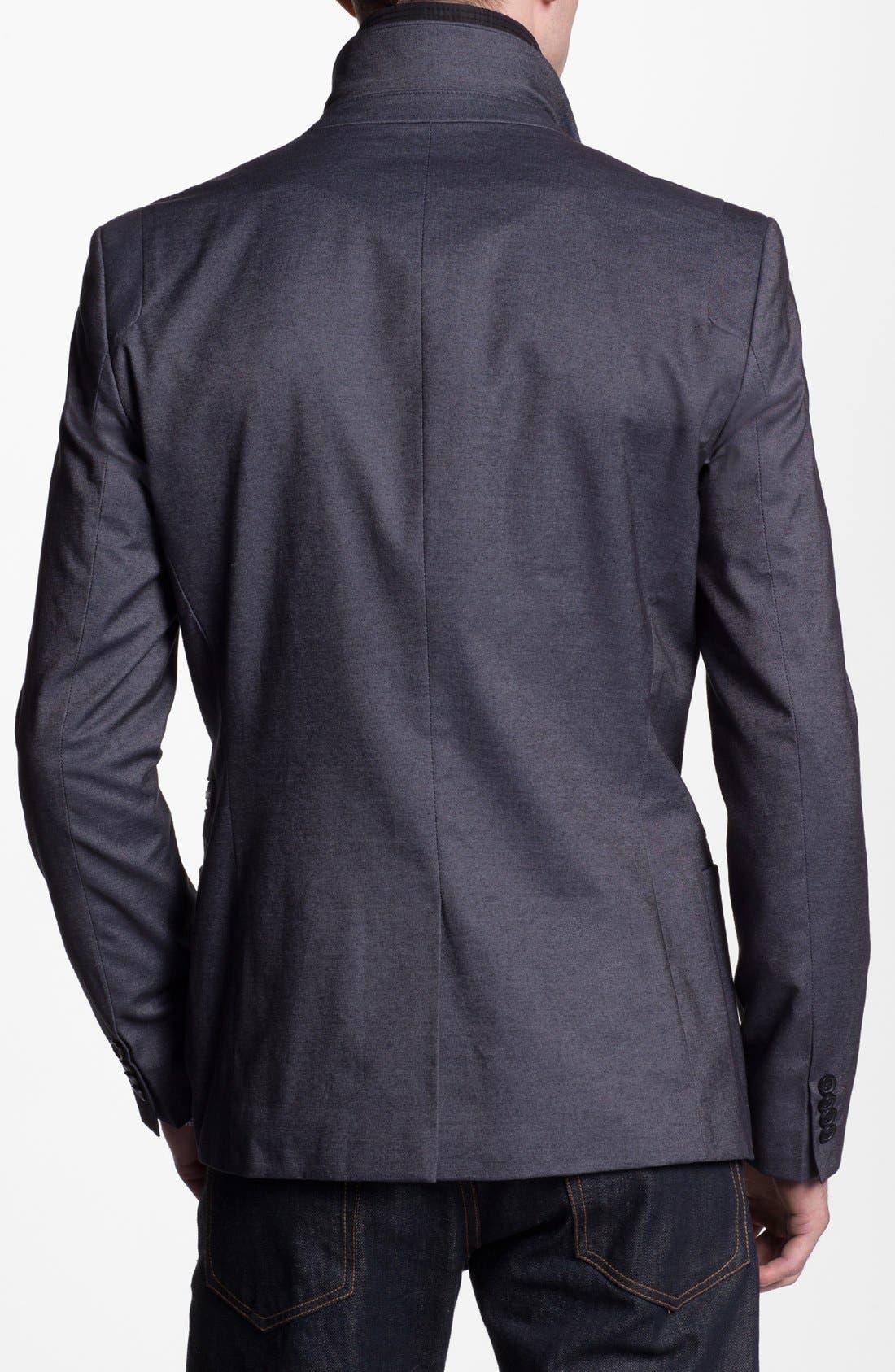 Alternate Image 3  - HUGO 'Alinos' Extra Trim Fit Sportcoat
