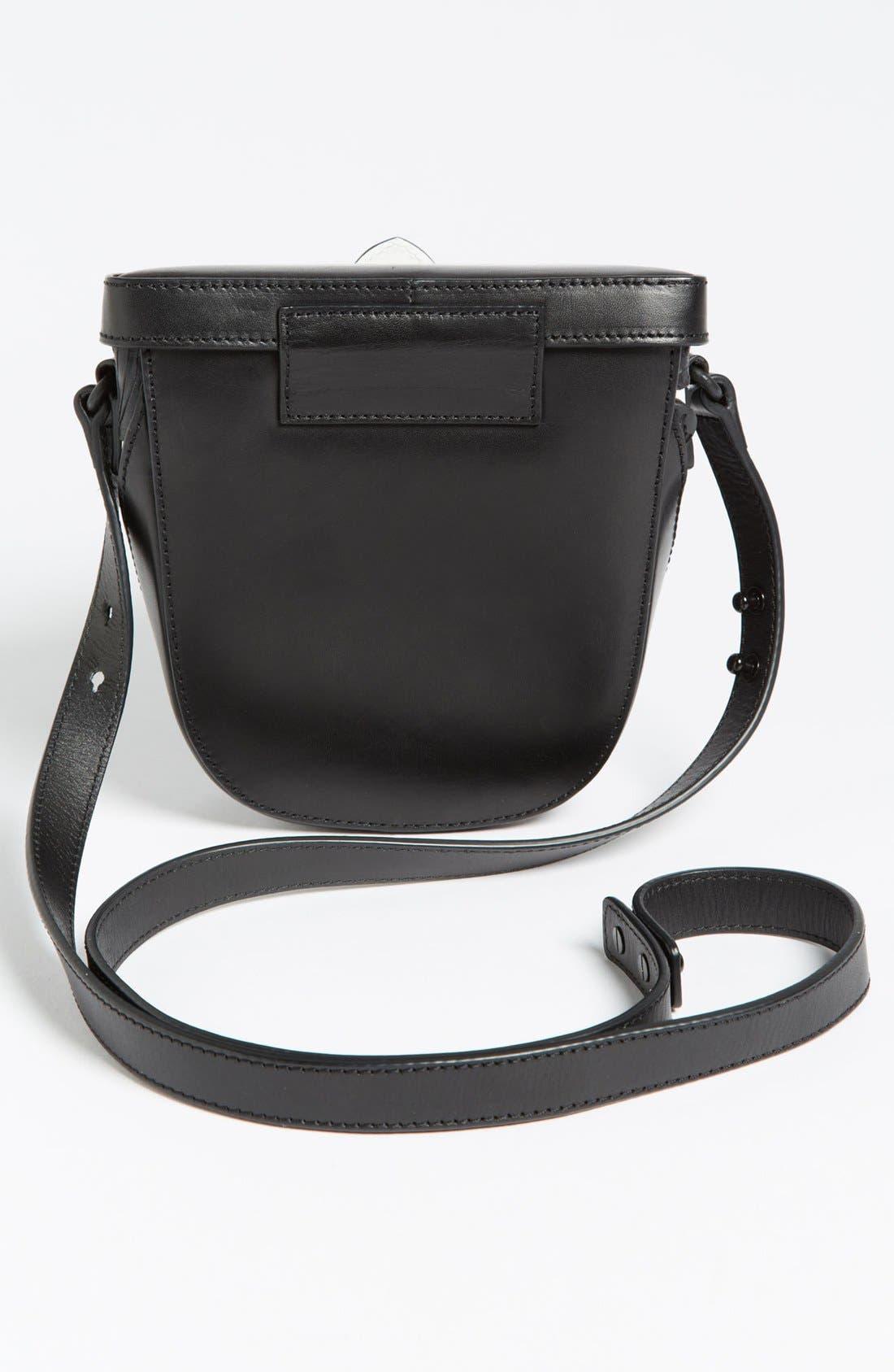 Alternate Image 4  - Loeffler Randall 'Shooter' Leather Crossbody Bag, Small