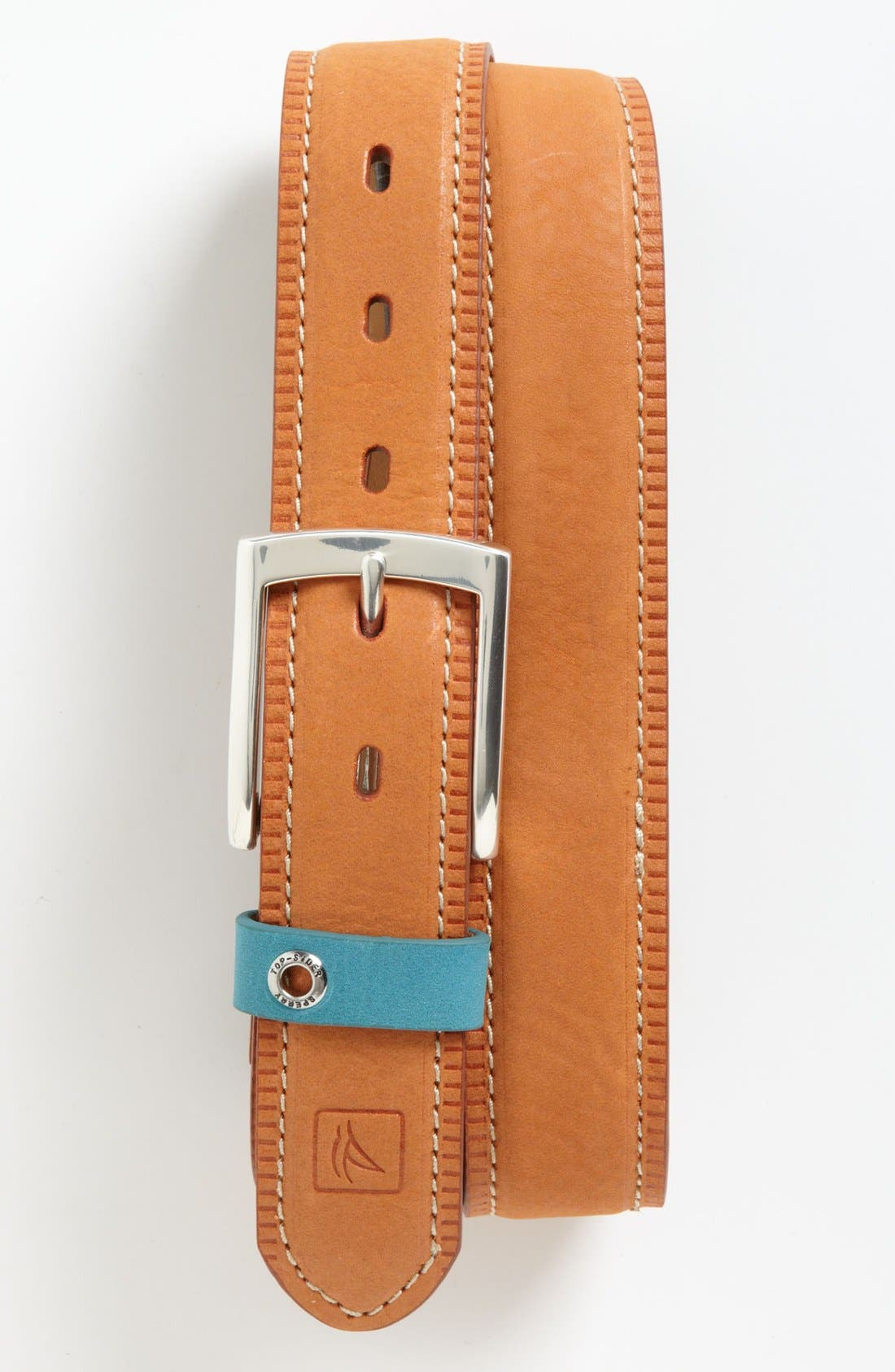 Alternate Image 1 Selected - Sperry Top-Sider® 'Hazybuck' Leather Belt