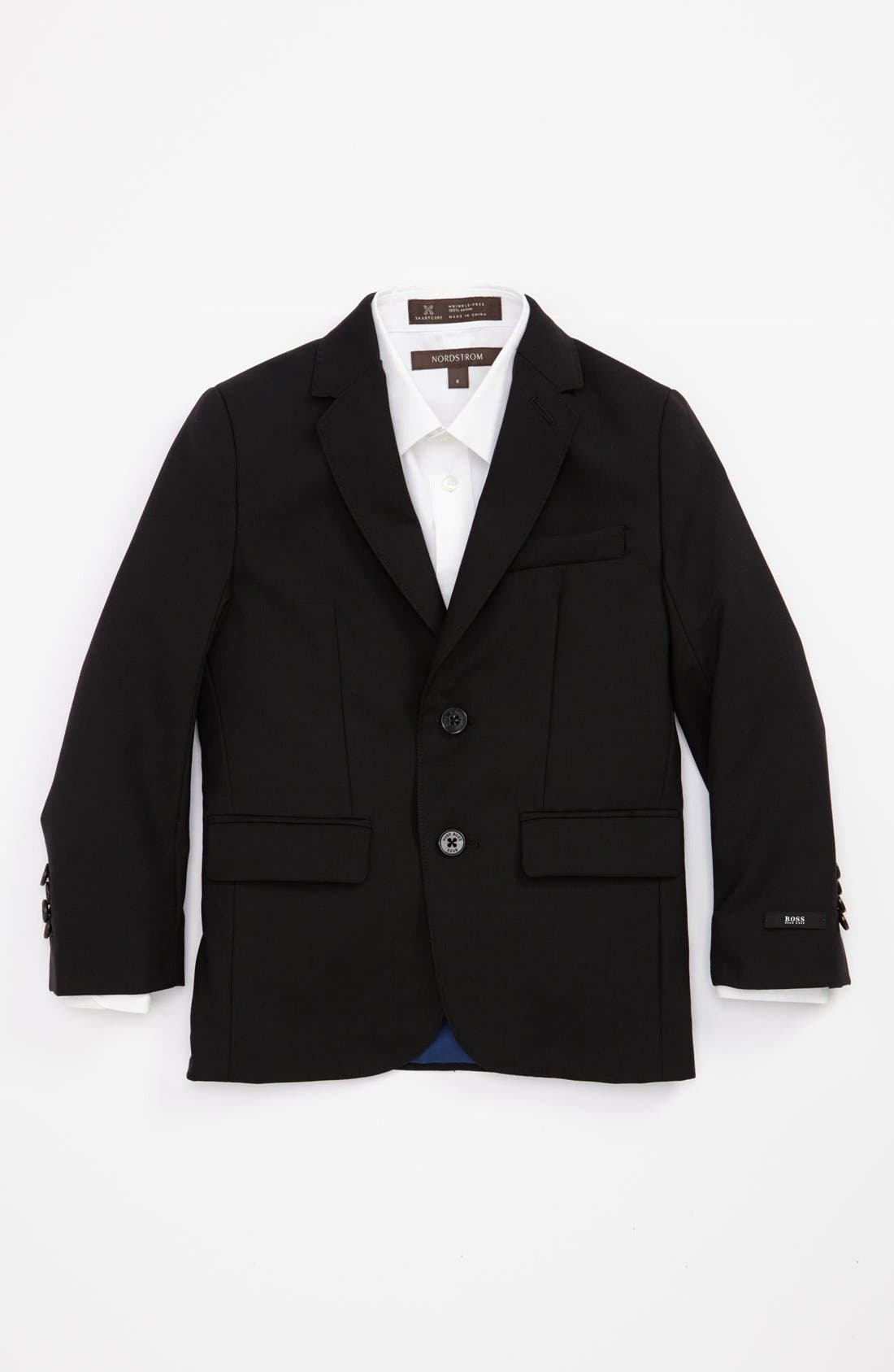 Alternate Image 1 Selected - BOSS Kidswear Wool Sportcoat (Little Boys & Big Boys)