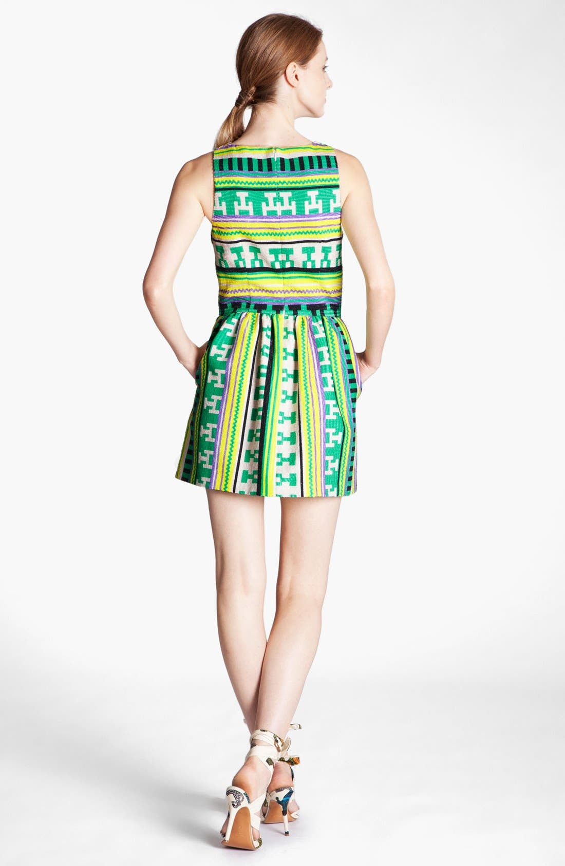 Alternate Image 2  - MSGM Ikat Print Dress