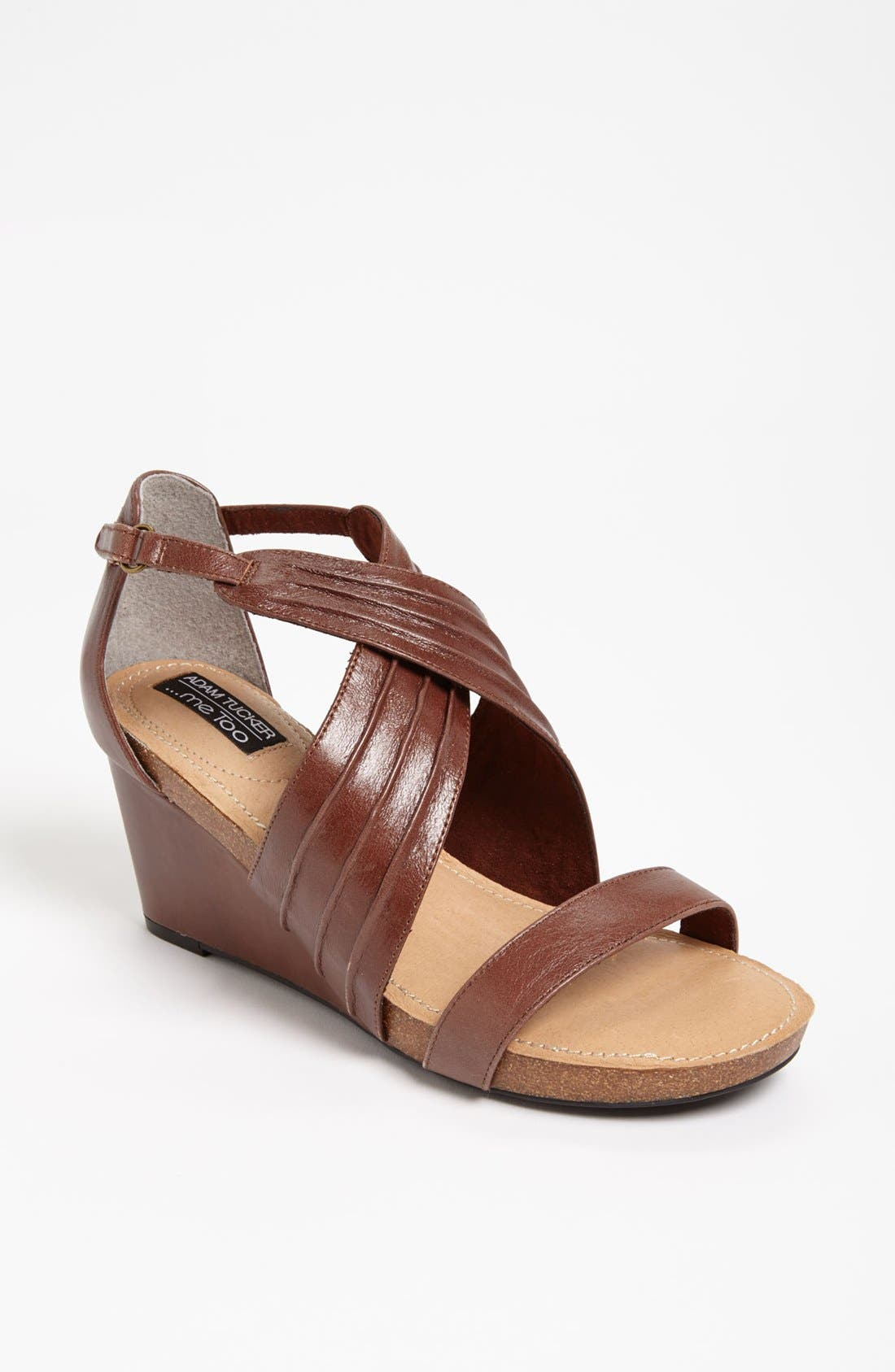 Main Image - Adam Tucker Me Too 'Kamila' Wedge Sandal
