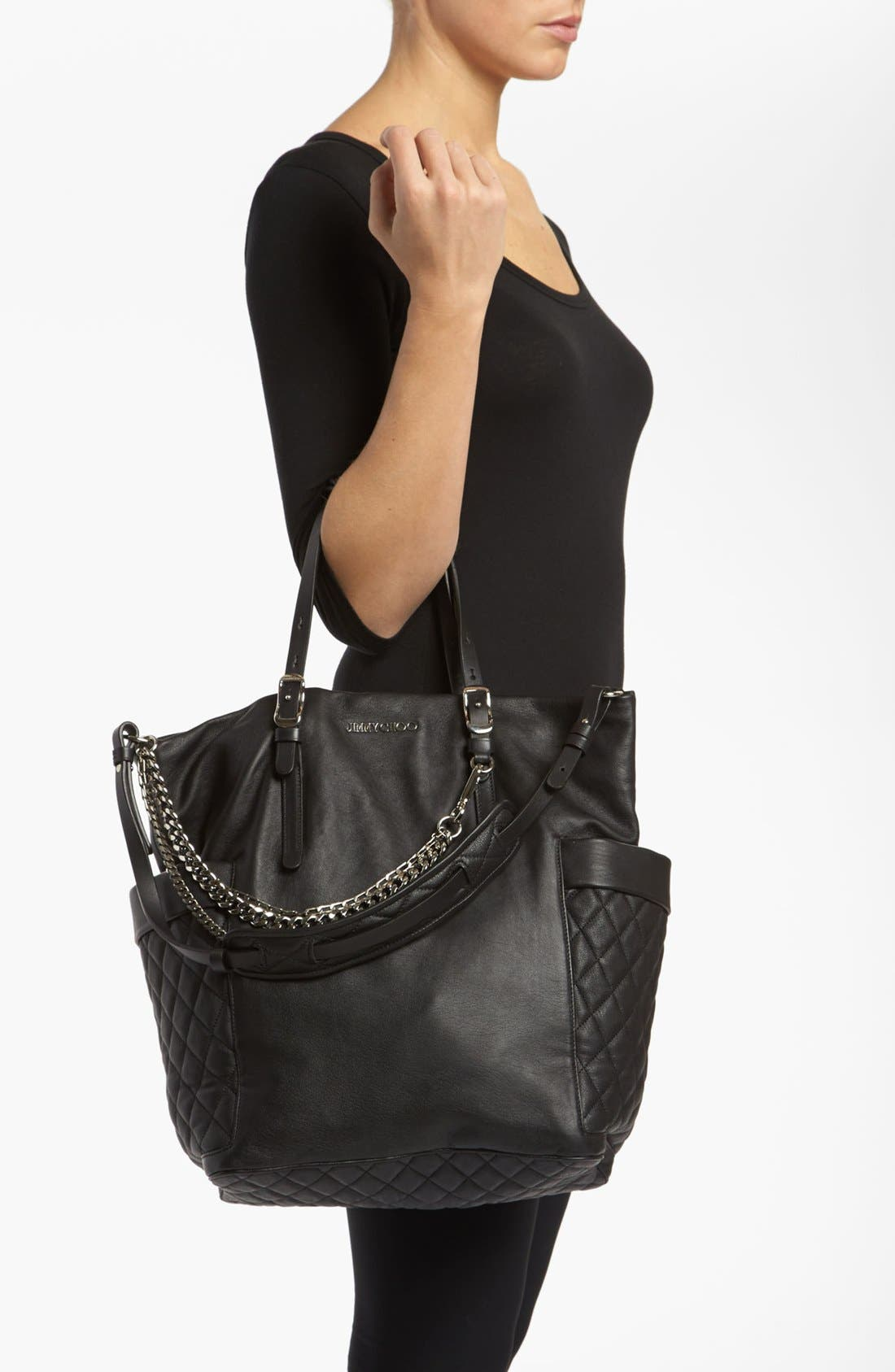 Alternate Image 2  - Jimmy Choo 'Blare' Leather Tote