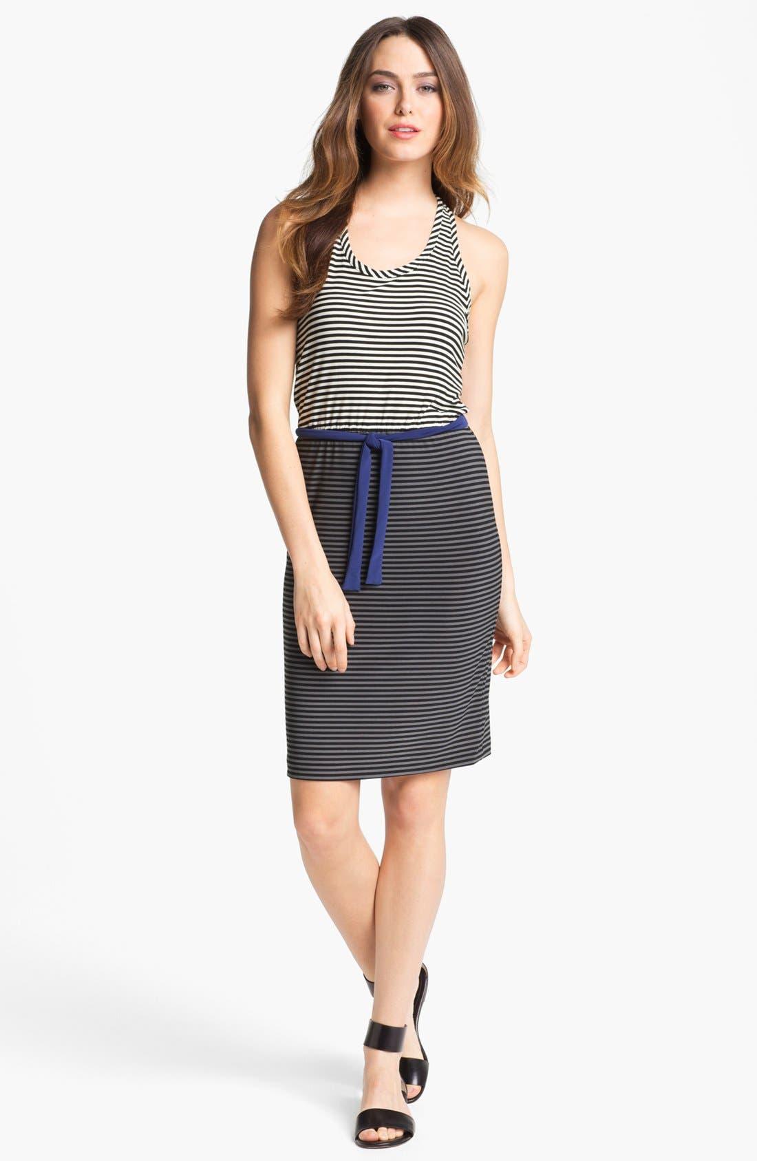 Alternate Image 1  - KAMALIKULTURE Stripe Racerback Tank Dress