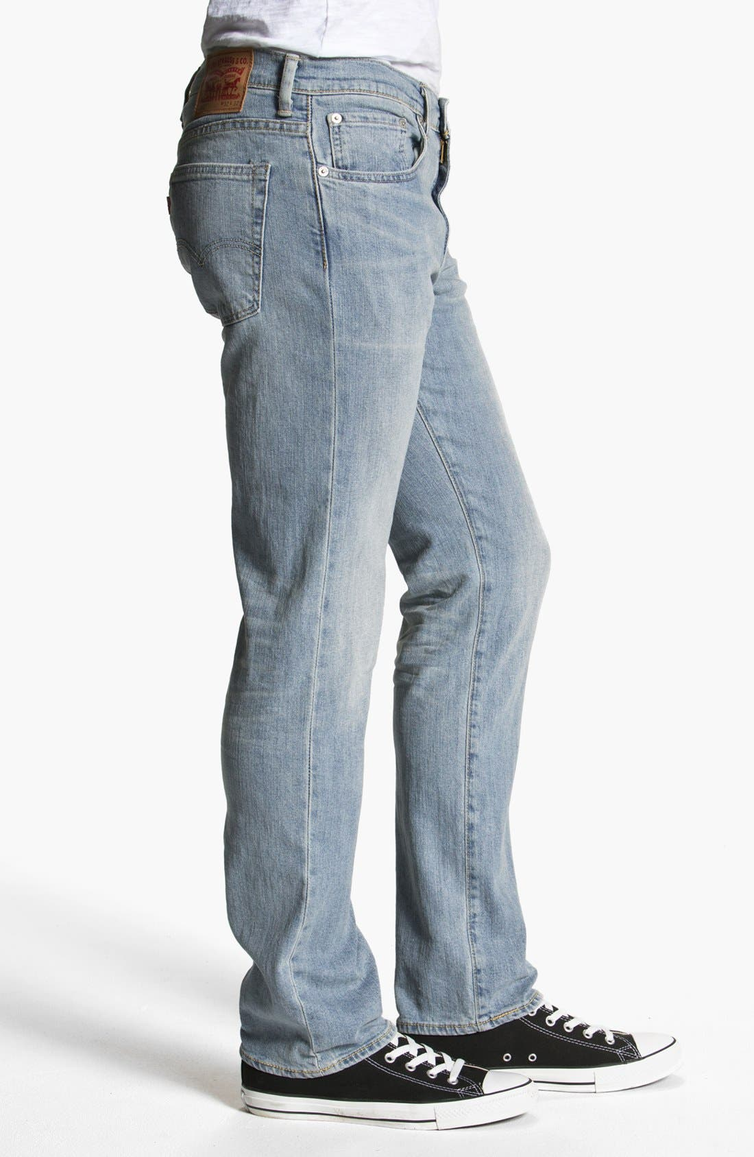 Alternate Image 3  - Levi's® '513™' Slim Fit Jeans (Light Breeze)