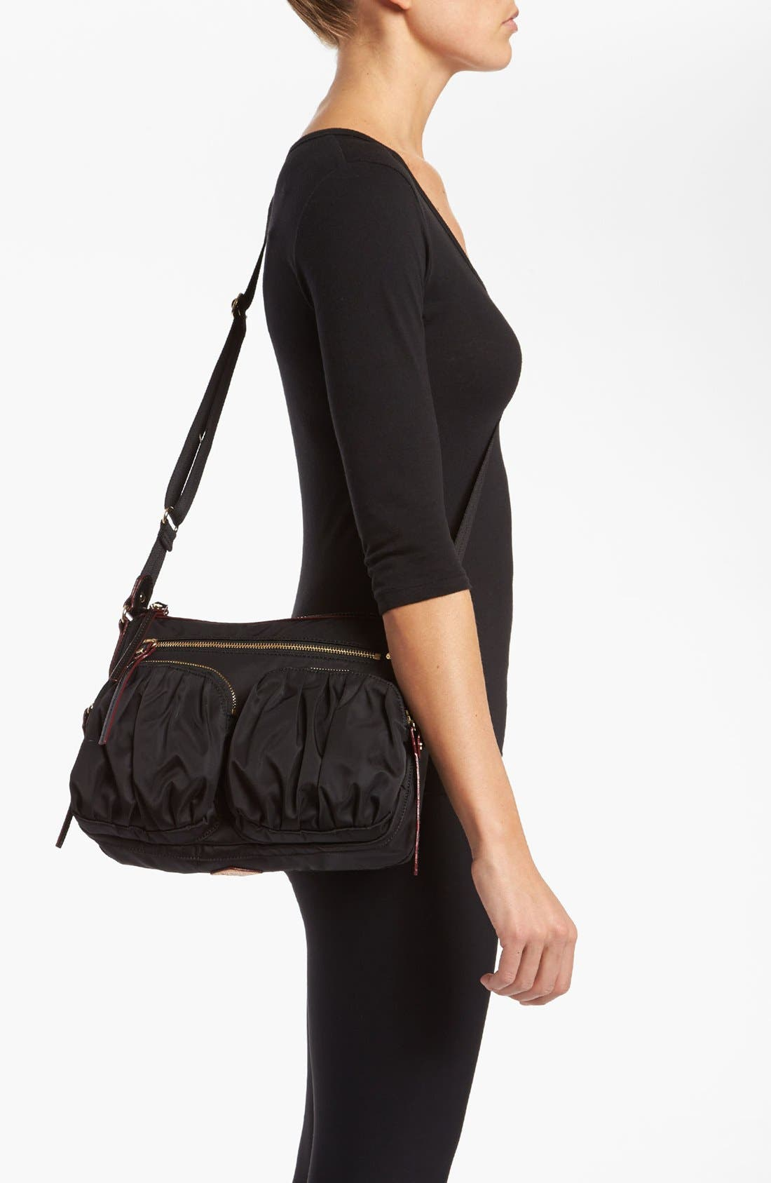 Alternate Image 2  - MZ Wallace 'Paige' Bedford Nylon Crossbody Bag