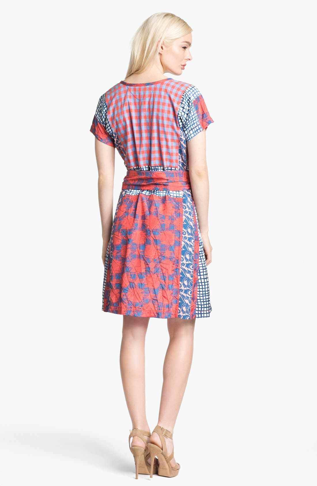 Alternate Image 2  - MARC BY MARC JACOBS 'Molly' Cotton & Silk Dress