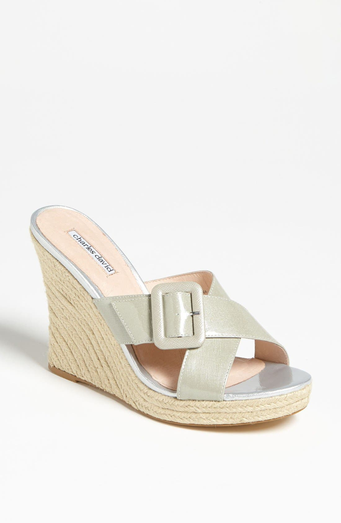 Alternate Image 1 Selected - Charles David 'Nelly' Wedge Sandal