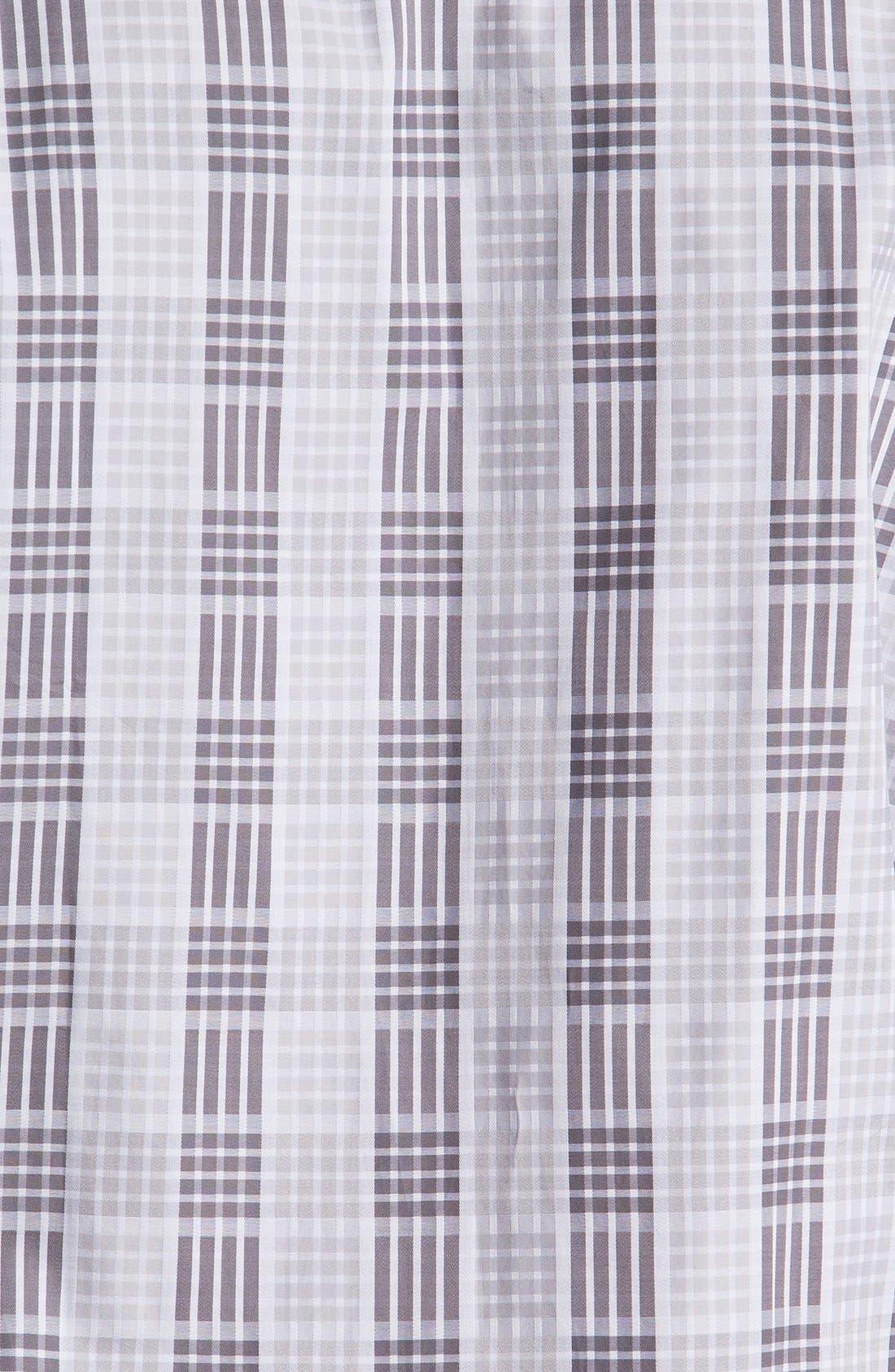 Alternate Image 3  - Bugatchi Check Classic Fit Cotton Sport Shirt