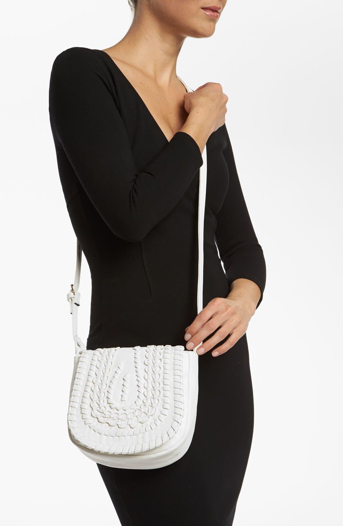 Alternate Image 2  - Big Buddha 'Baker' Faux Leather Crossbody Bag, Small
