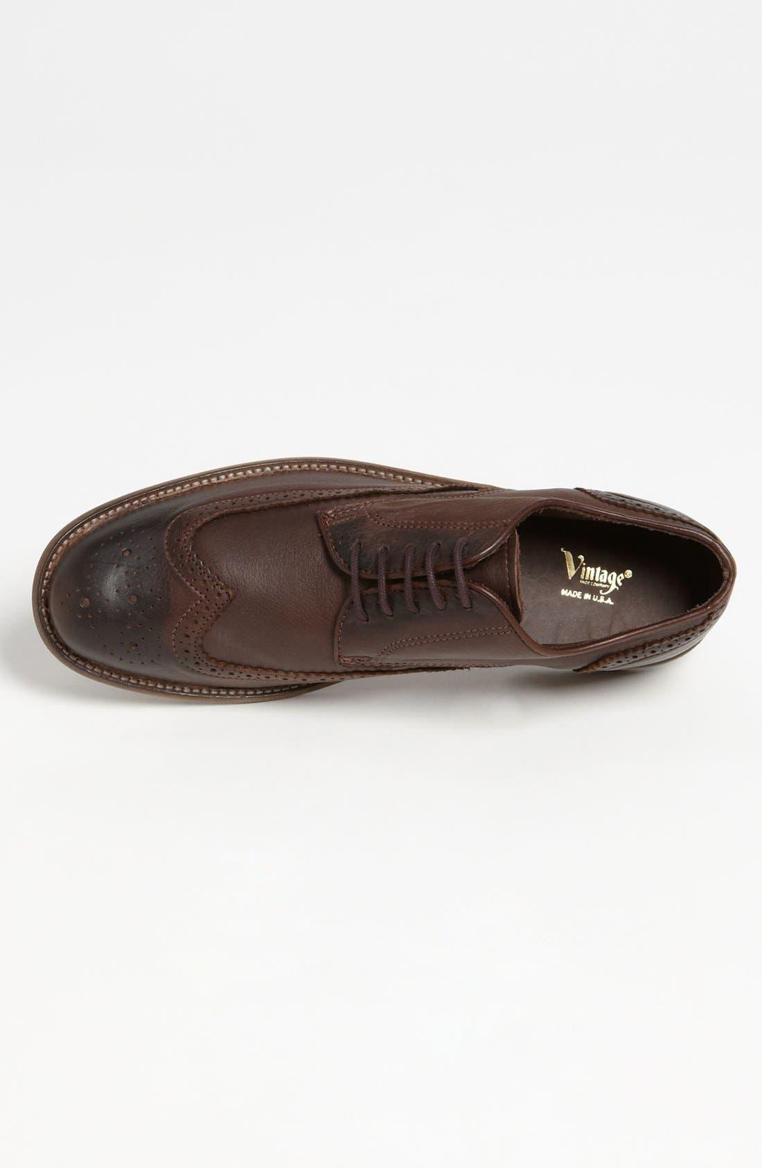Alternate Image 3  - Vintage Shoe Company 'Warren' Wingtip