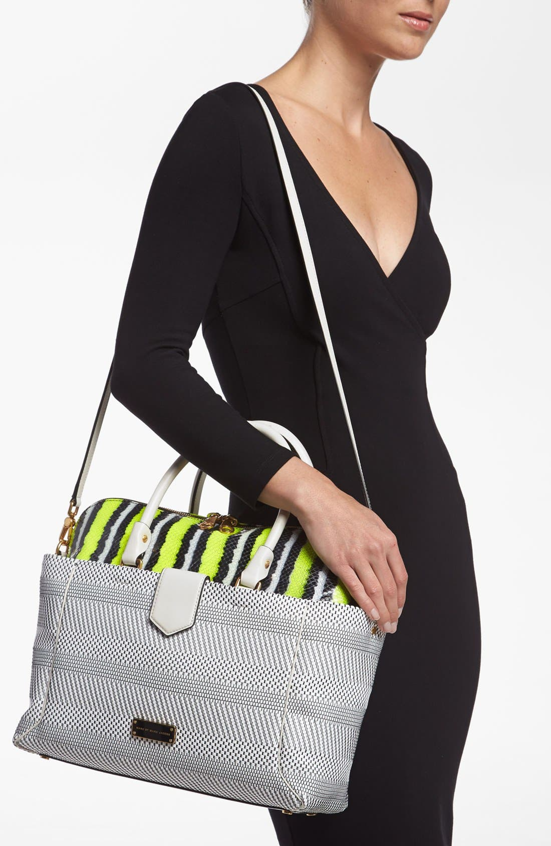 Alternate Image 2  - MARC BY MARC JACOBS 'Double Trouble Anemone - Whitney' Leather Tote