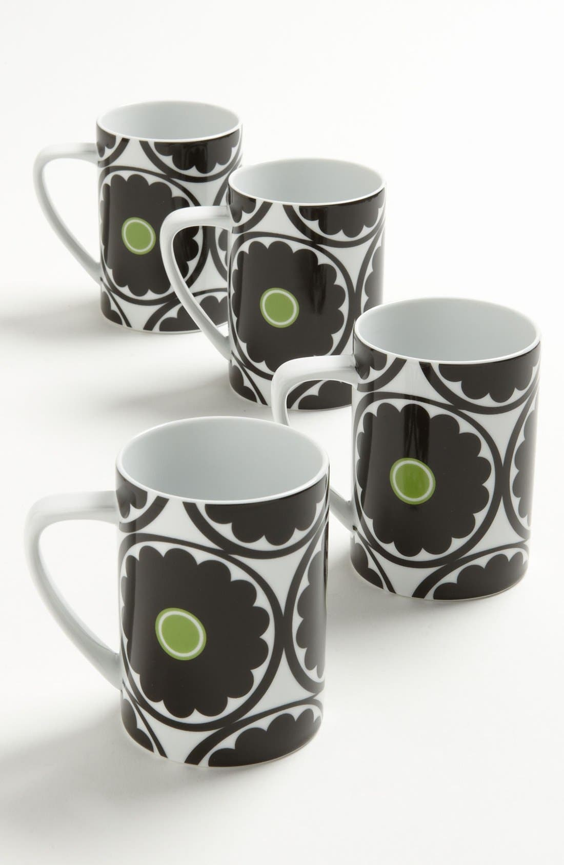 Alternate Image 1 Selected - Echo 'That '70s Floral' Mugs (Set of 4)
